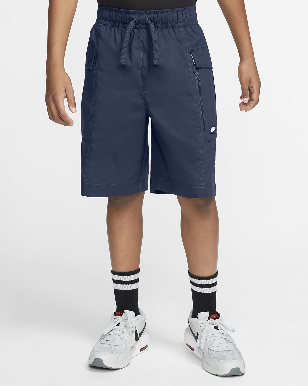 Nike Sportswear Older Kids' (Boys') Woven Cargo Shorts