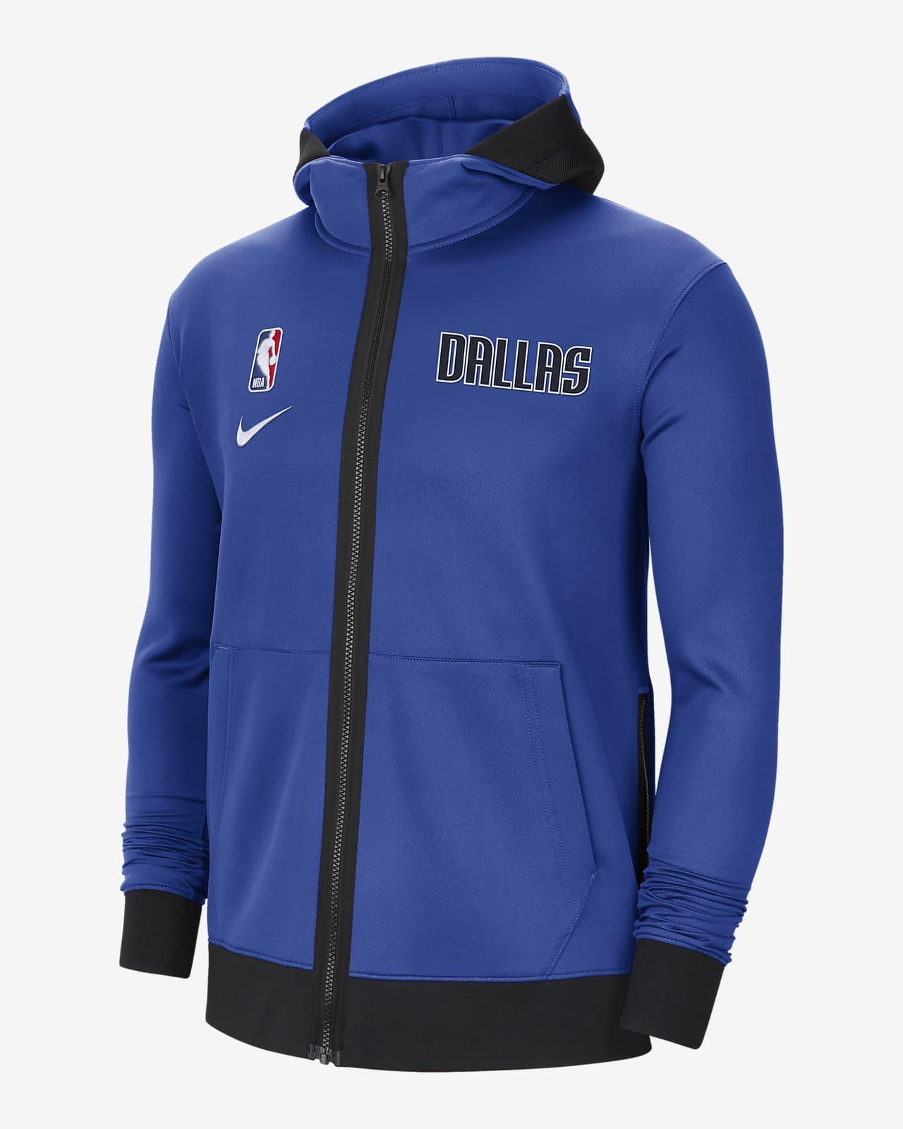 Dallas Mavericks Showtime Nike Therma Flex NBA-hettegenser til herre