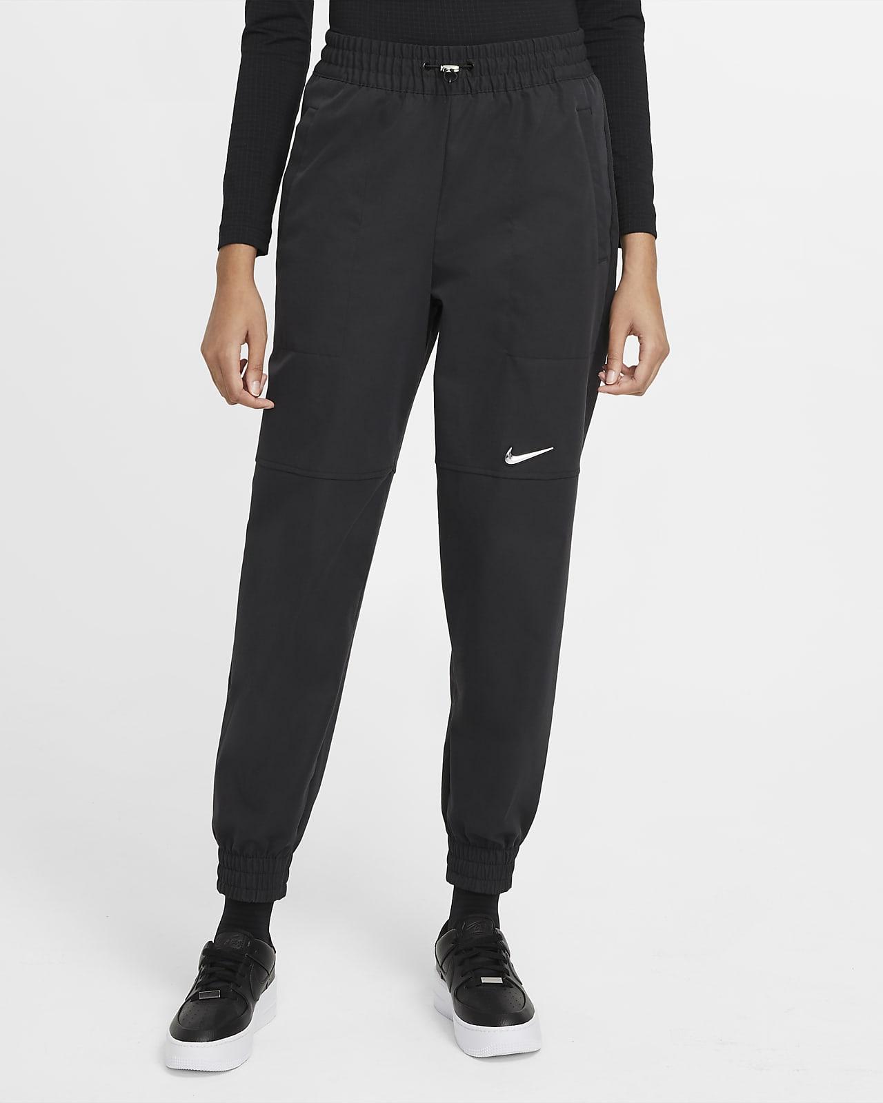 Nike Sportswear Swoosh Damenhose aus Webmaterial