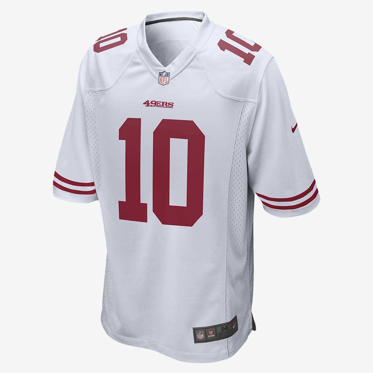 NFL San Francisco 49ers Game (Jimmy Garoppolo) Men's Football Jersey