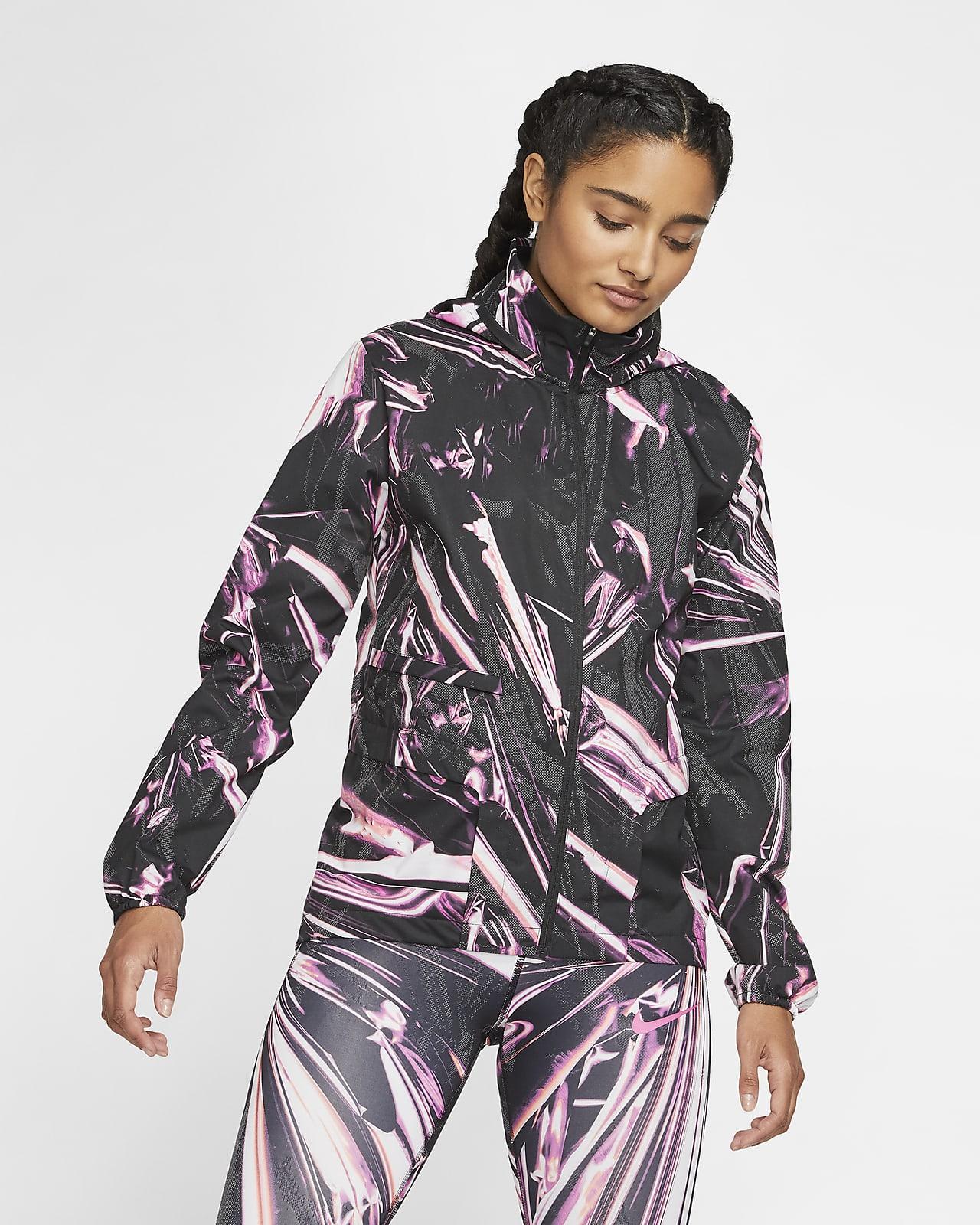 Giacca da running con zip a tutta lunghezza Nike Shield - Donna