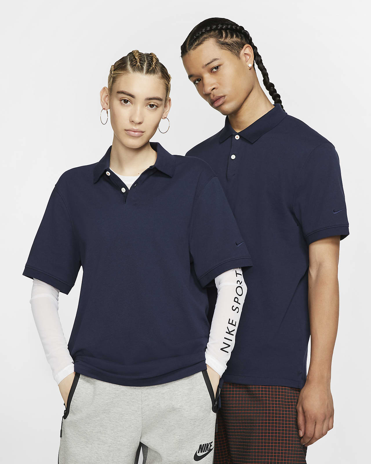 The Nike Polo (Without Orange Collar Label) med smal passform för män