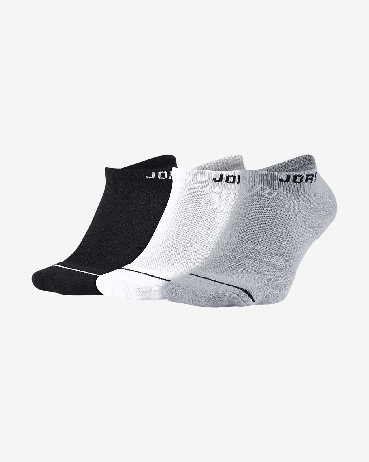 Jordan Everyday Max Unisex No-Show Socks (3 Pair)