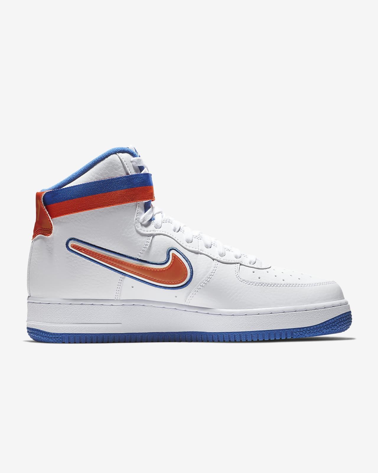 Nike Air Force 1 NBA High (New York Knicks) Men's Shoe