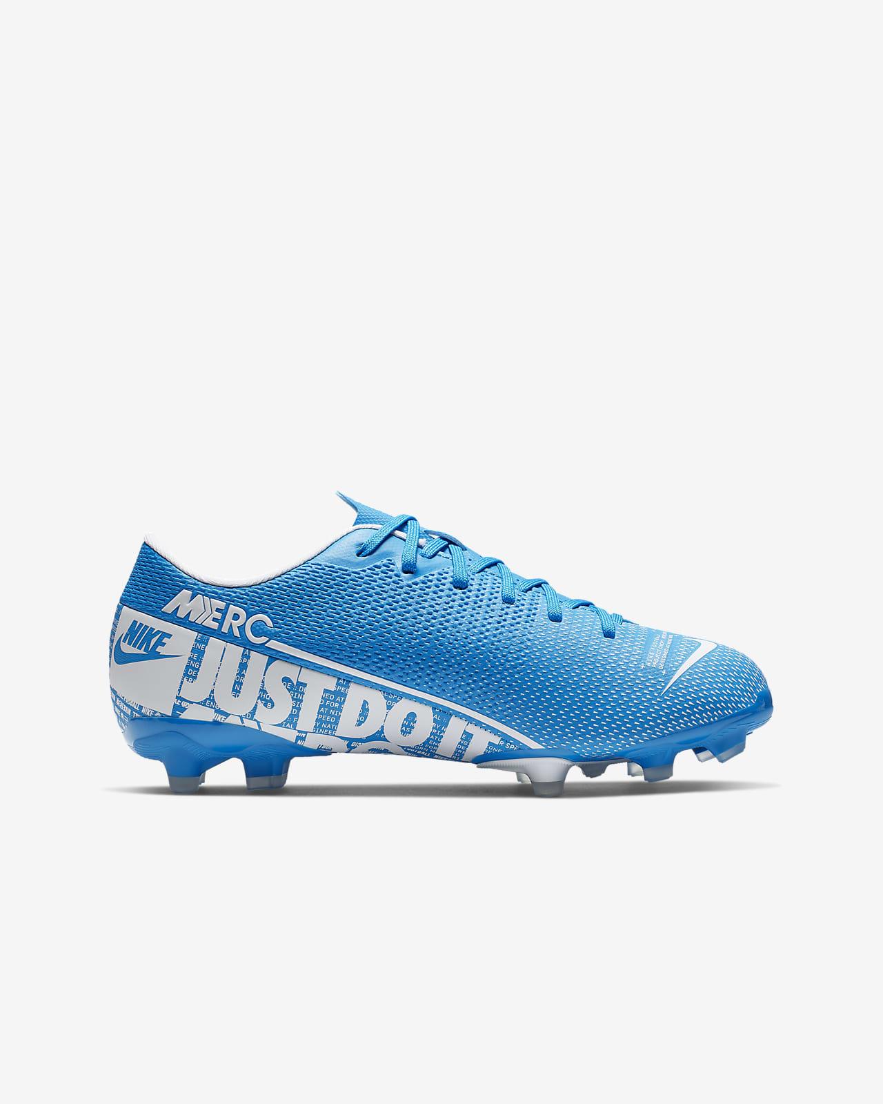 chaussure de foot enfant nike bleu