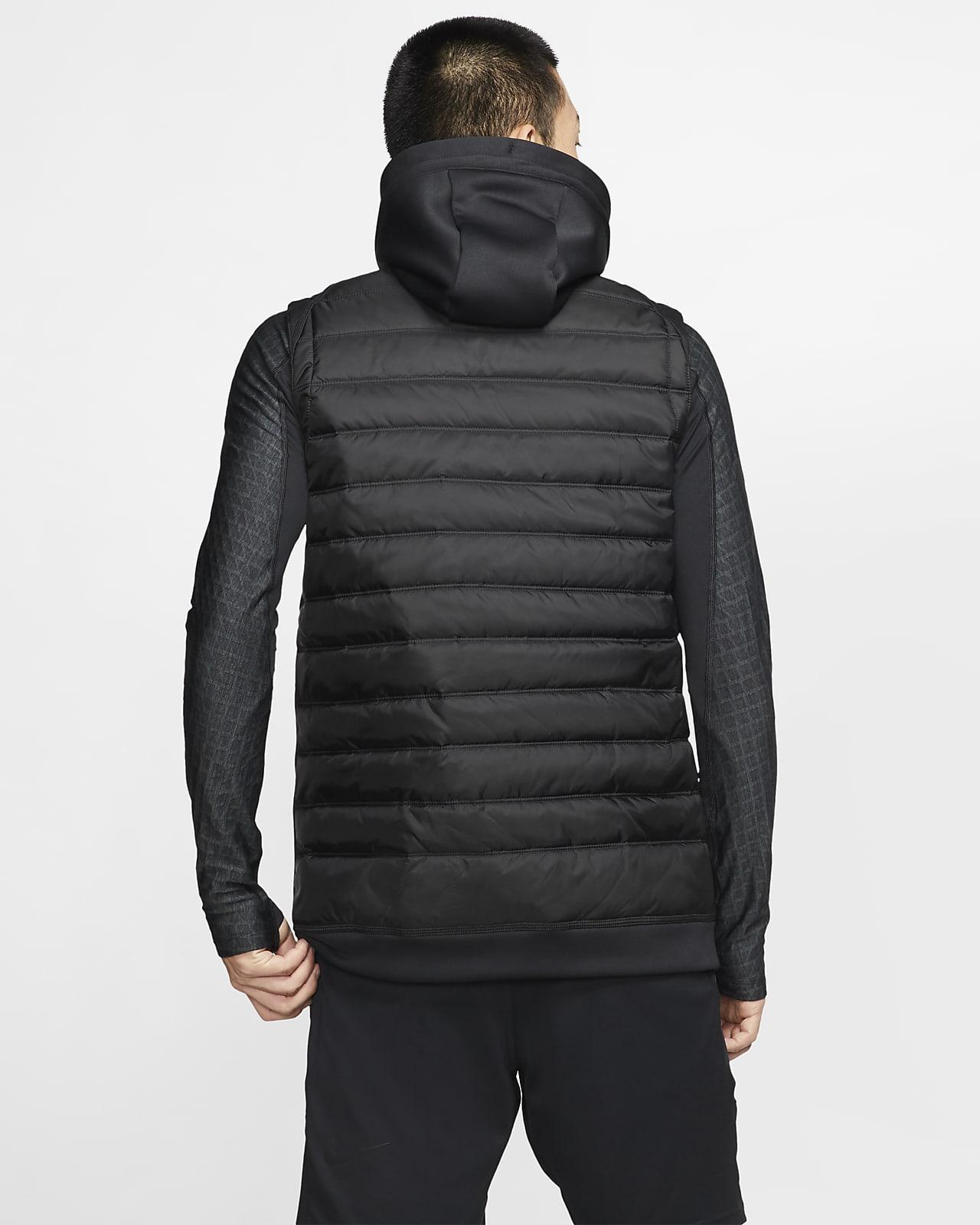 Winterized Full-Zip Training Gilet. Nike NL