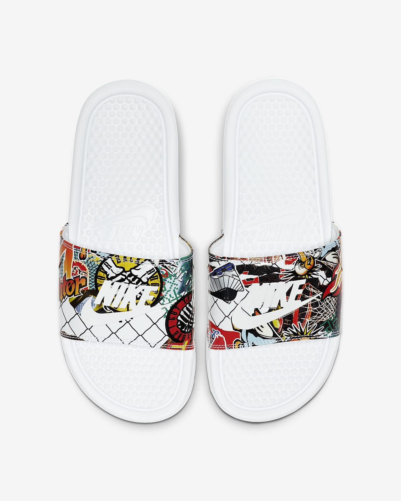 NikeBenassi JDI Print 女子拖鞋