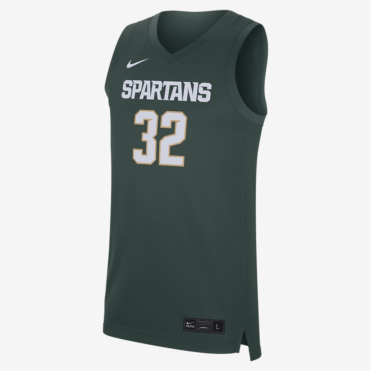 Nike College Replica (Michigan State) Men's Basketball Jersey