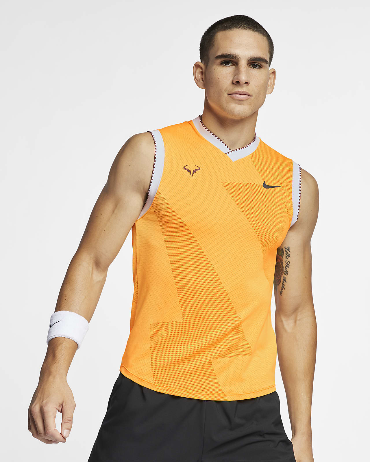 NikeCourt AeroReact Rafa Men's Sleeveless Tennis Top