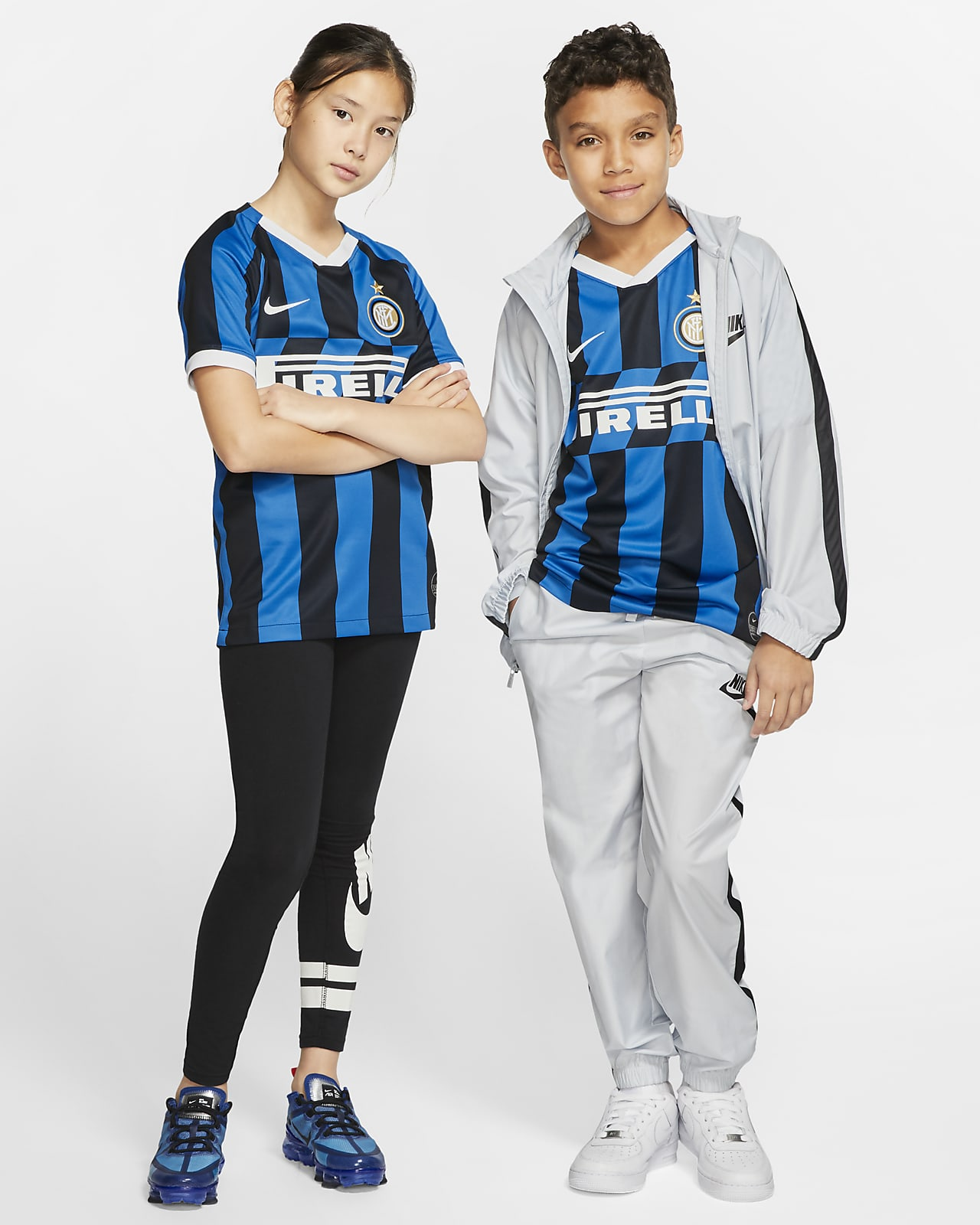Inter Milan 2019/20 Stadium Home Older Kids' Football Shirt