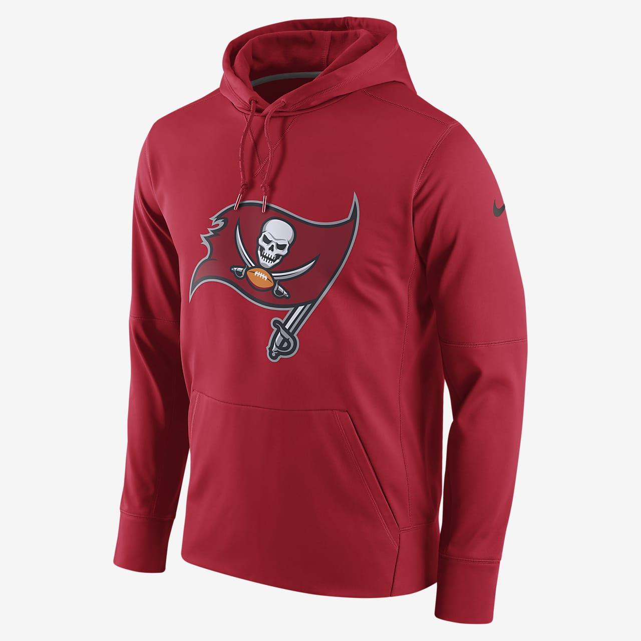 Nike Essential (NFL Buccaneers) Men's Logo Hoodie