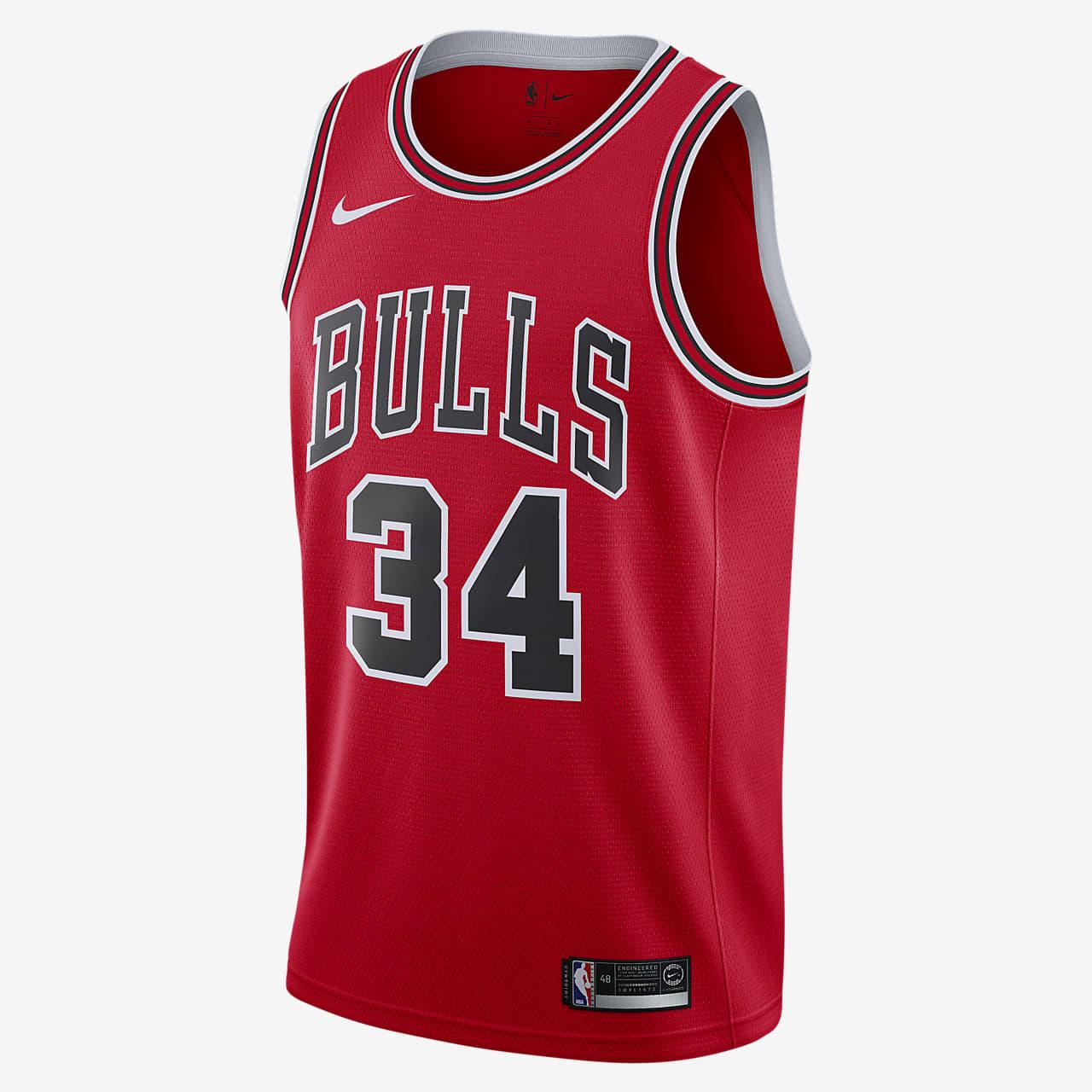 Acelerar Lugar de la noche Derribar  Camiseta conectada Nike NBA para hombre Icon Edition Swingman (Chicago  Bulls). Nike.com