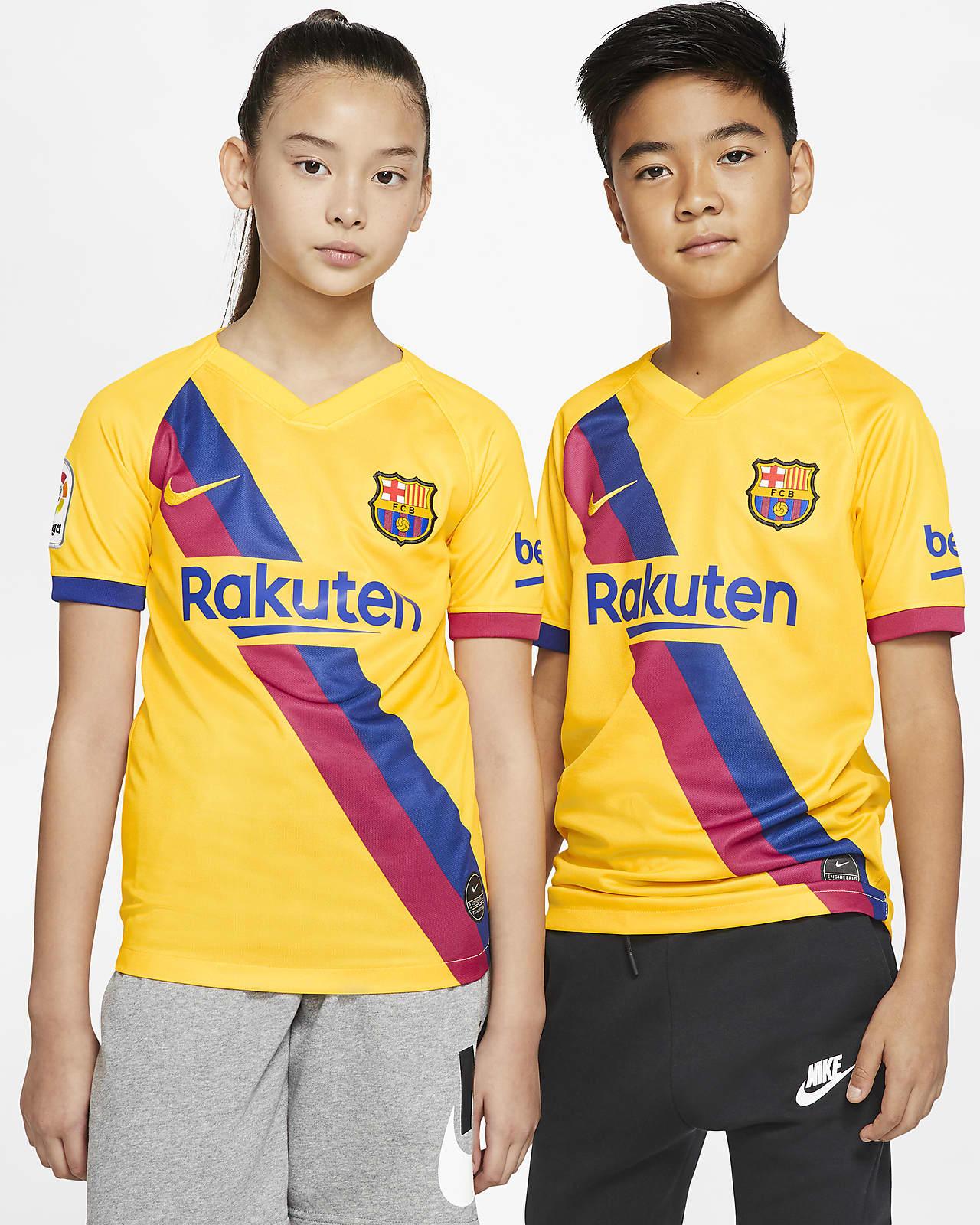 FC Barcelona 2019/20 Stadium Away Fußballtrikot für ältere Kinder