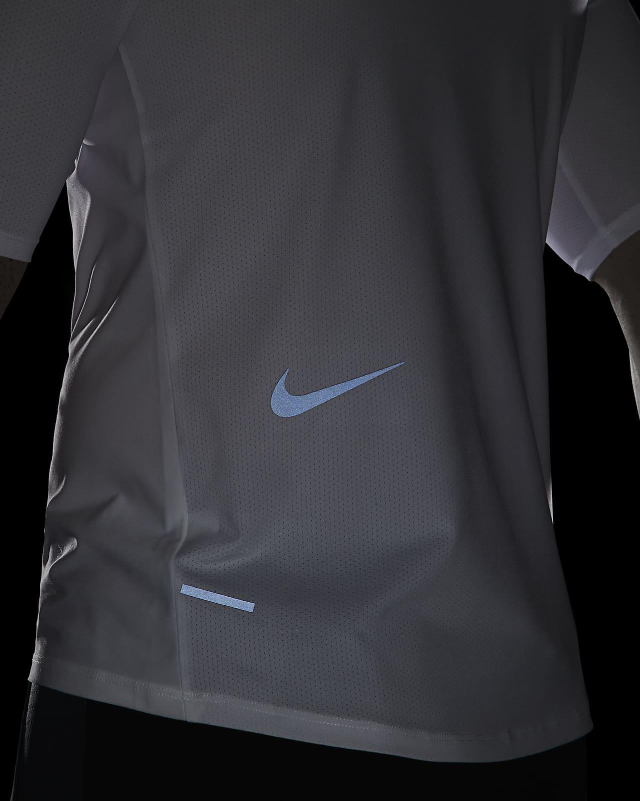 Nike Tech Pack Men's 12 Zip Short Sleeve Running Top