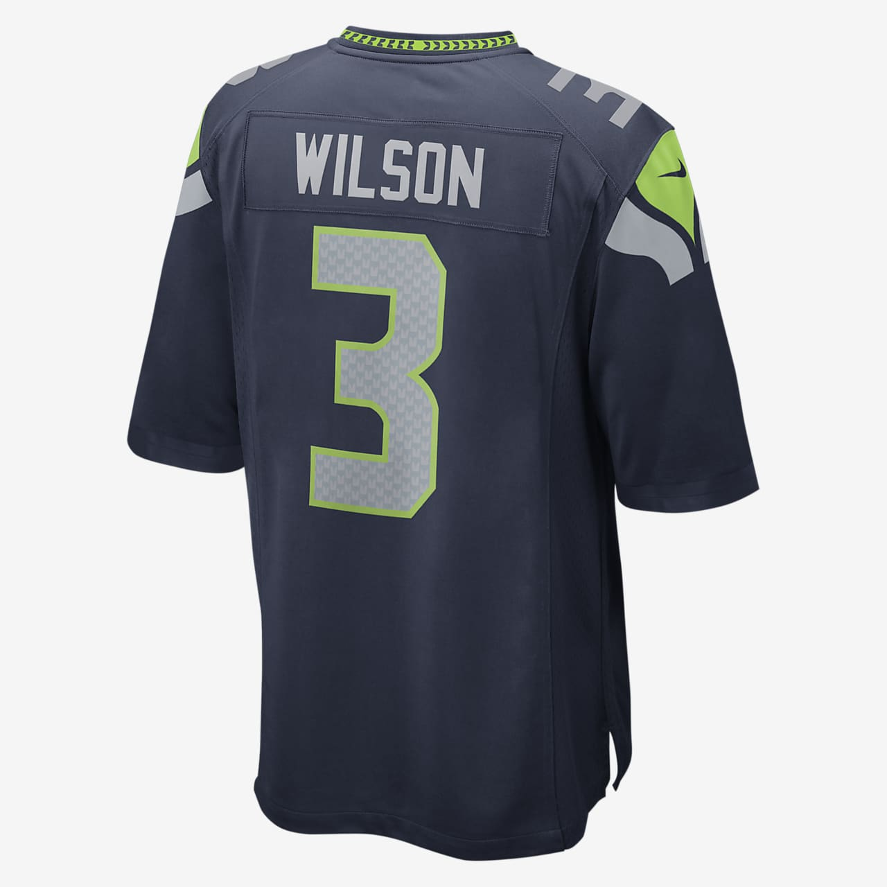 NFL Seattle Seahawks (Russell Wilson) Kids' Football Home Game Jersey