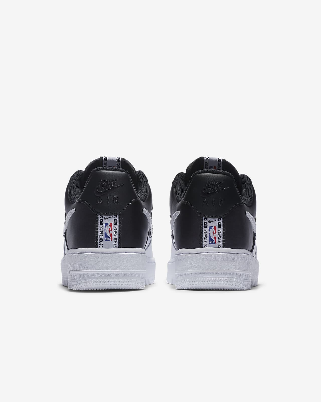 air force 1 bianche e nere nba