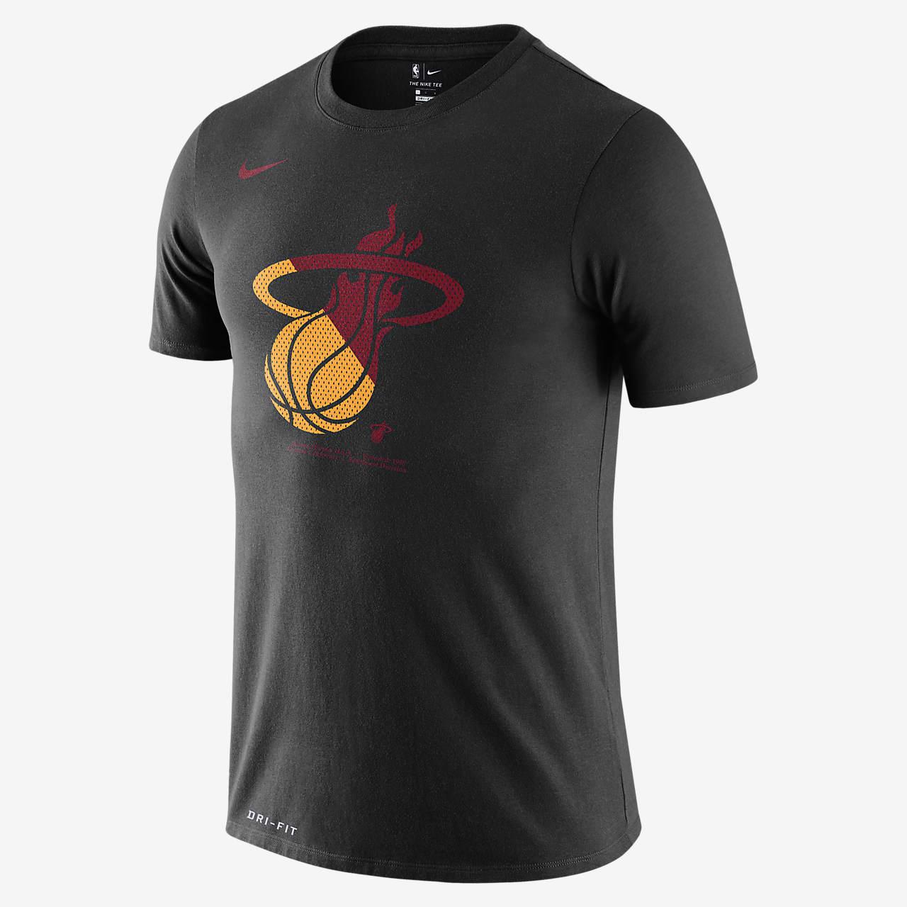 Tee-shirt NBA Miami Heat Nike Dri-FIT pour Homme