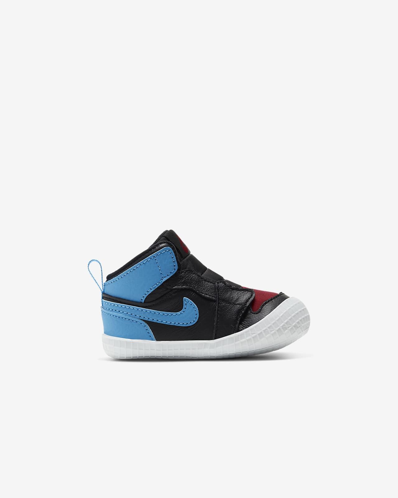 Chausson Jordan 1 pour Bébé. Nike LU