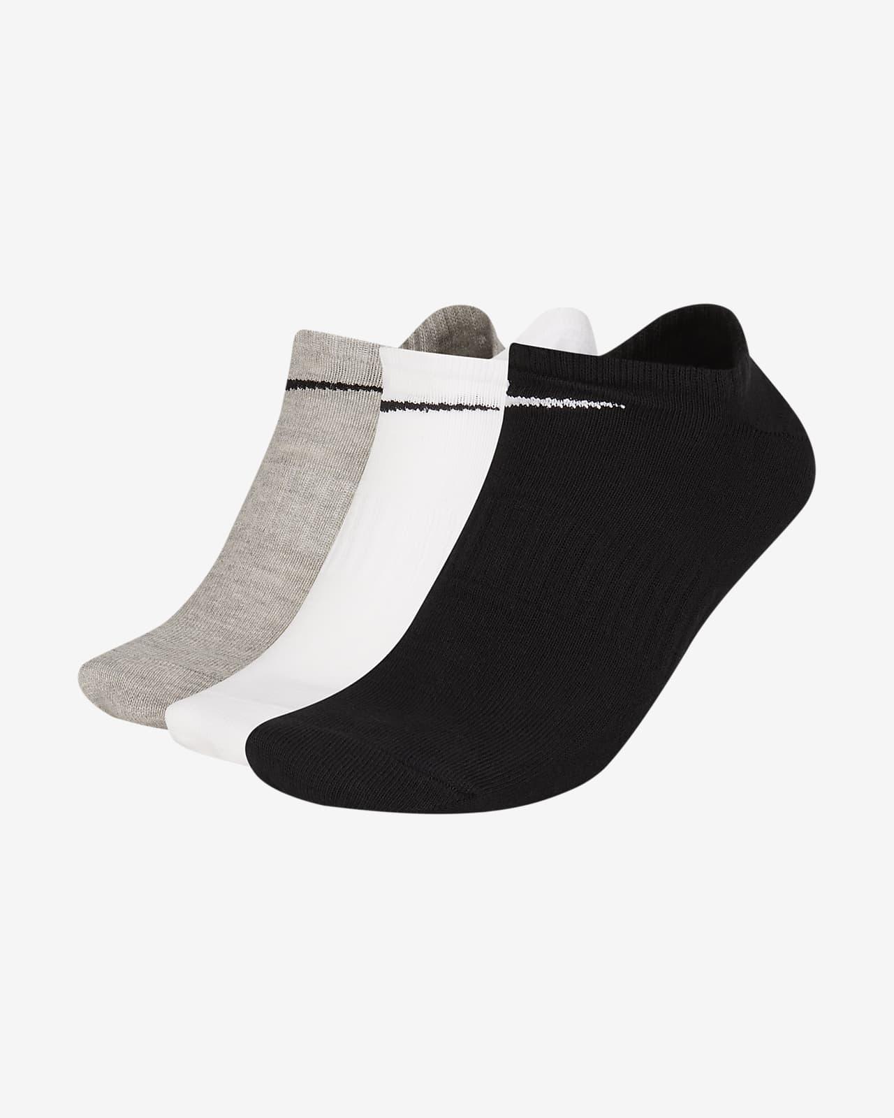 Nike Everyday Lightweight Training No-Show Socks (3 Pairs)