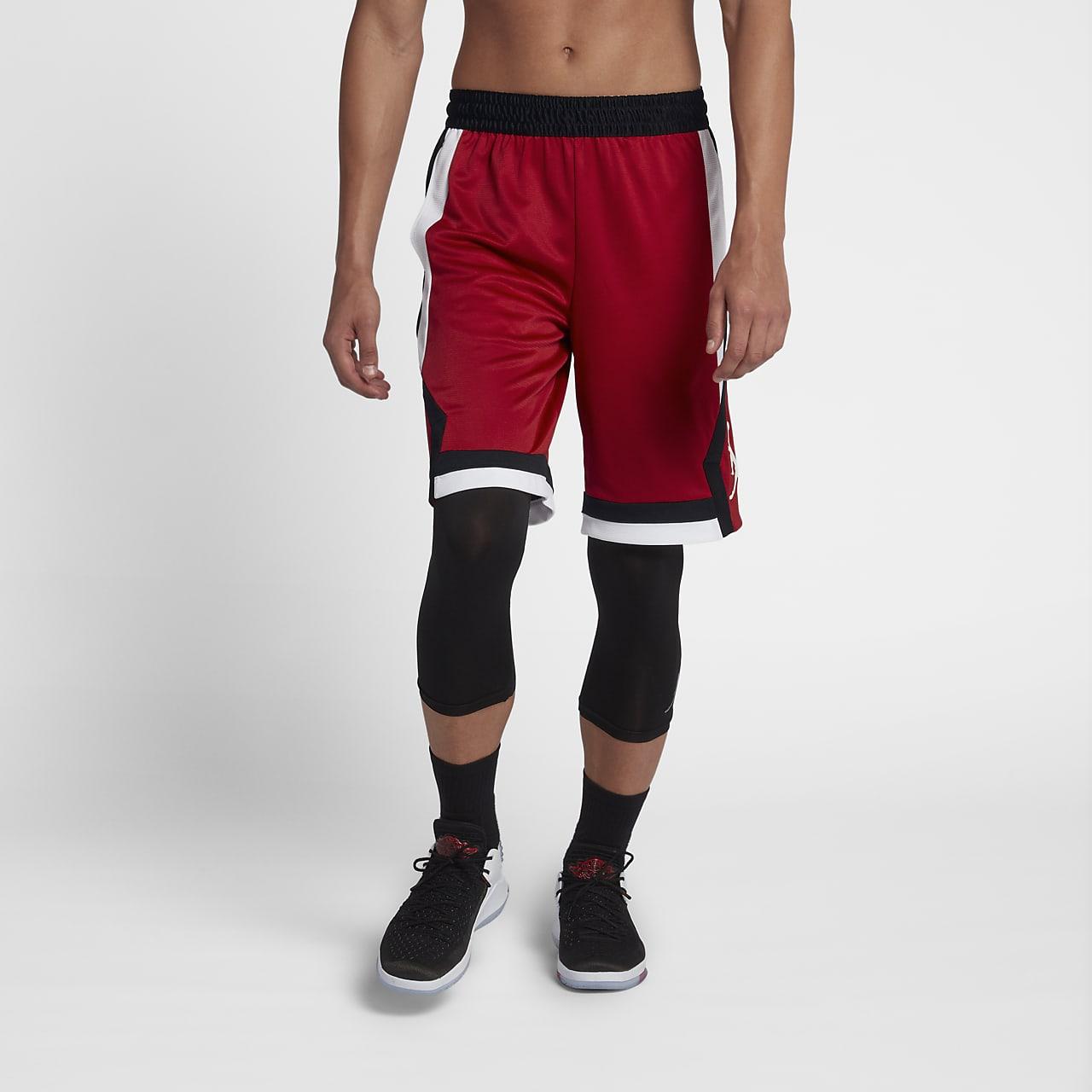 กางเกงบาสเก็ตบอลขาสั้นผู้ชาย Jordan Rise