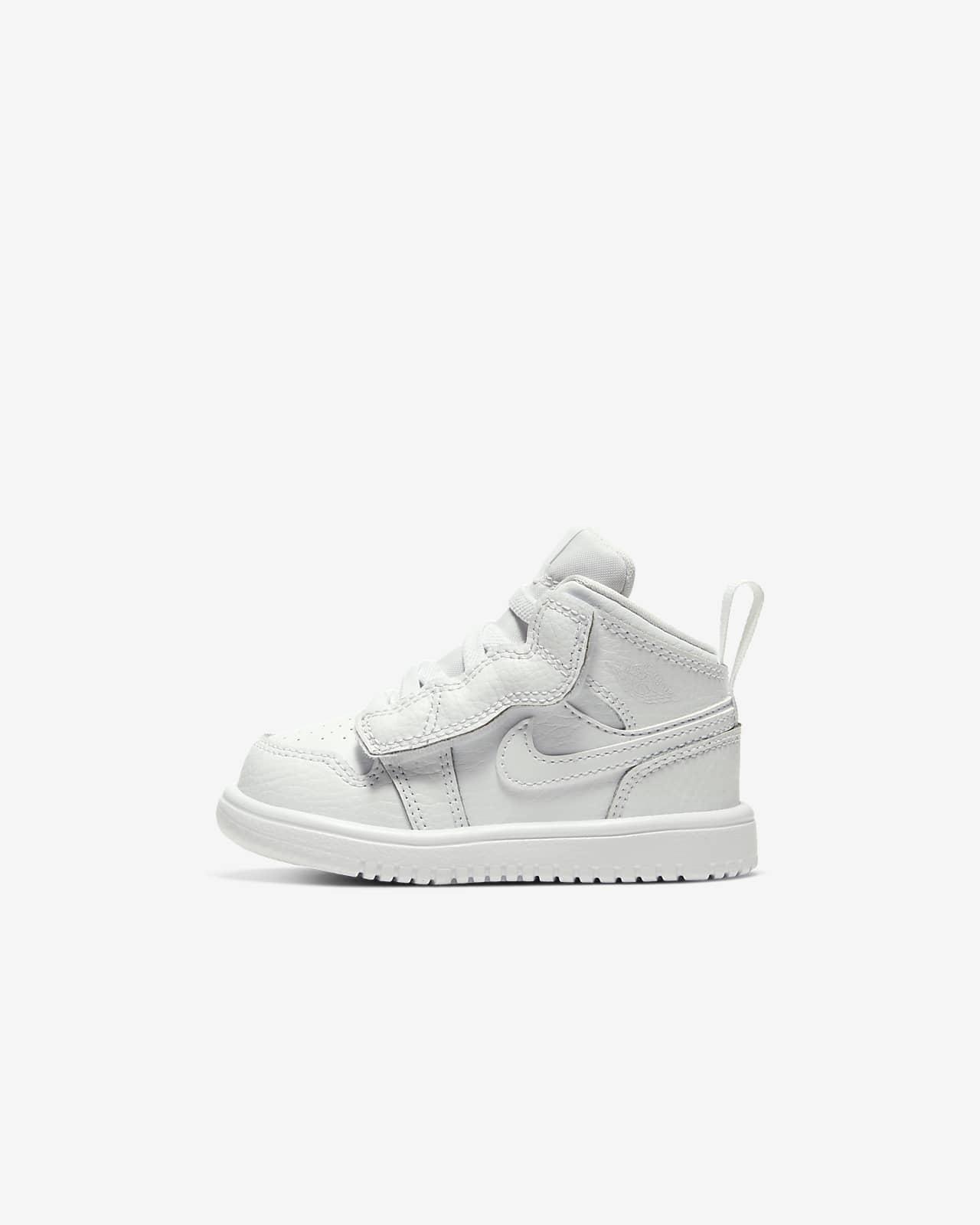 Jordan 1 Mid-sko til babyer/småbørn