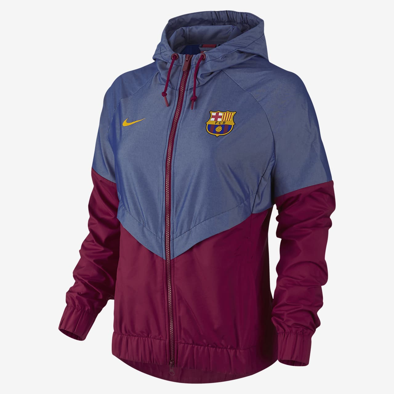 antiguo Ajustarse refrigerador  FC Barcelona Authentic Windrunner Women's Jacket. Nike LU