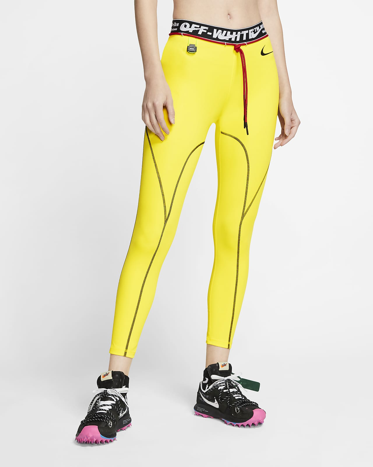Nike X Off White Pro Women S Tights Nike Id