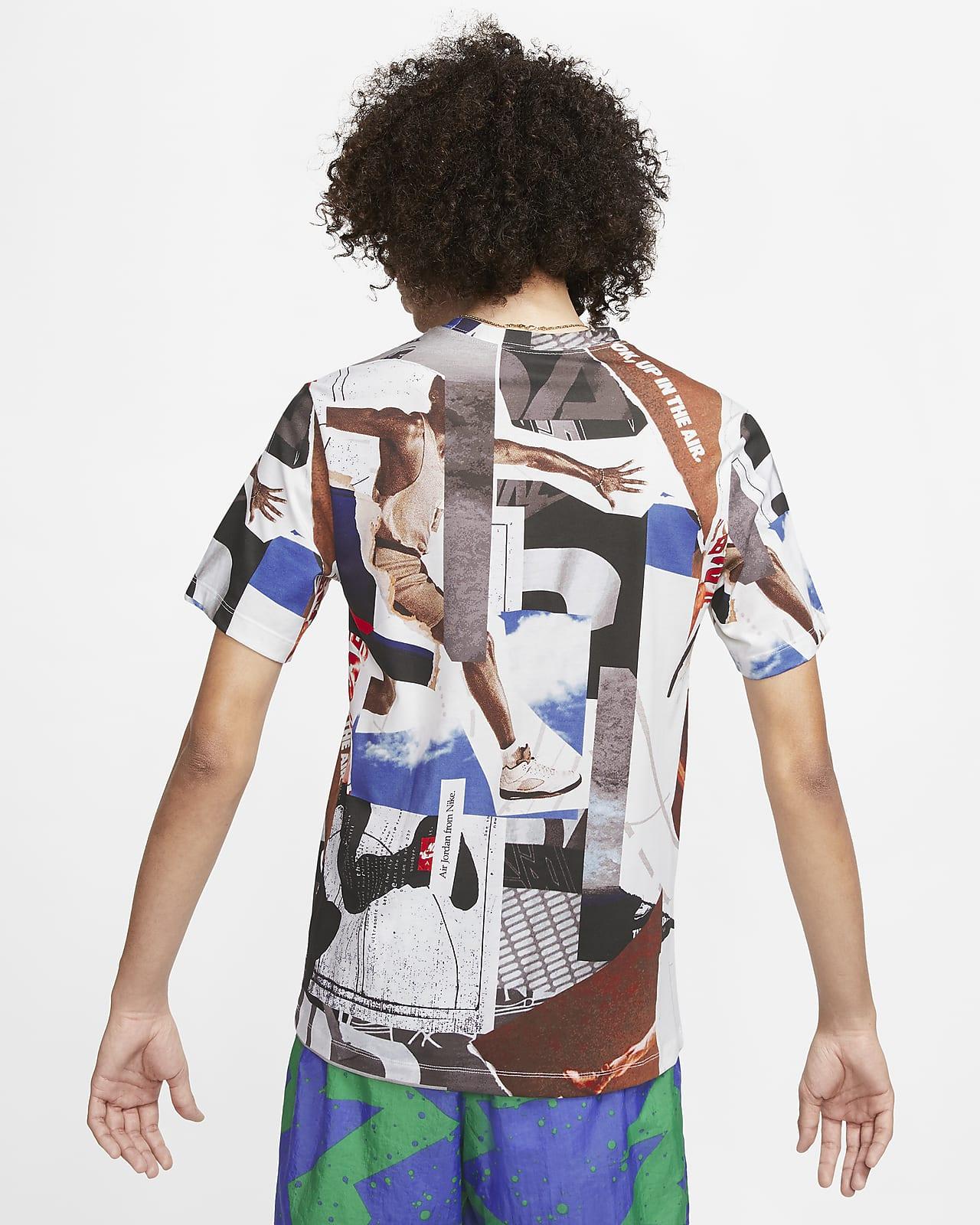 Jordan Photo Men's T-Shirt. Nike GB