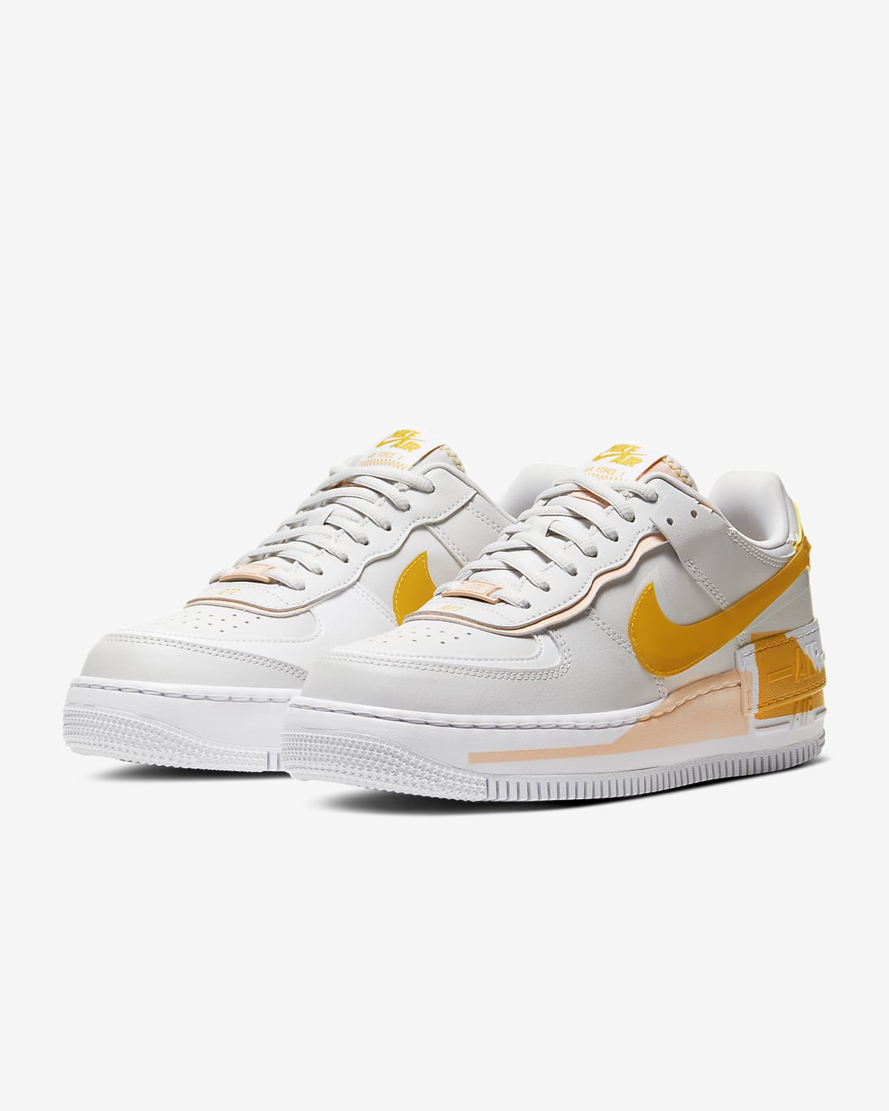Nike Air Force 1 Shadow Se Women S Shoe Nike In This sneaker reflects this ethos in its design with double the swoosh, double the height and double the force. nike air force 1 shadow se women s shoe