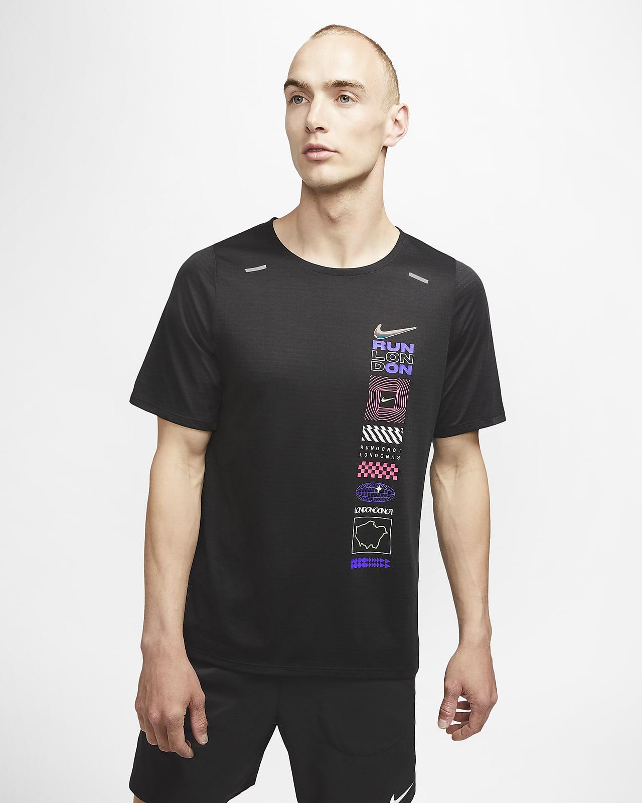 Nike Rise 365 London rövid ujjú férfifelső
