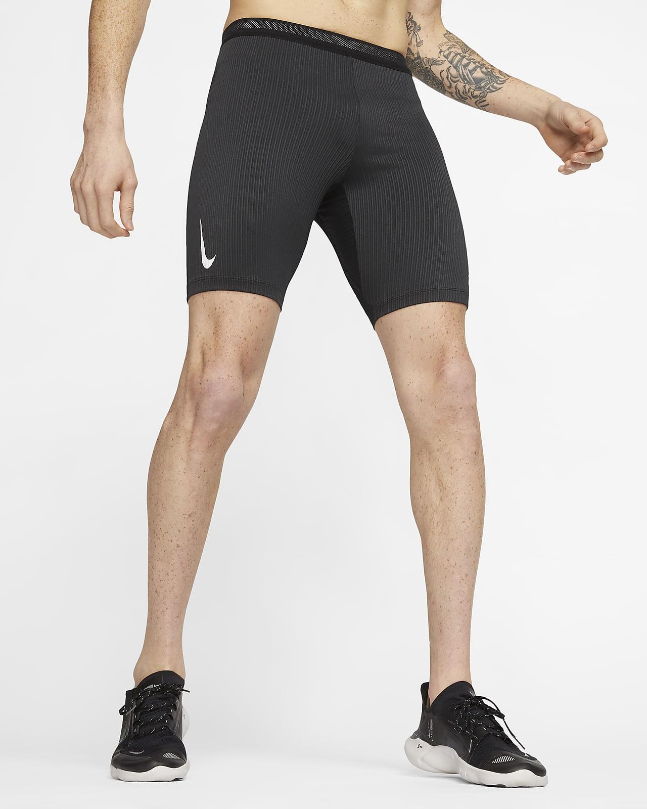 Mallas de running de largo medio para hombre Nike AeroSwift