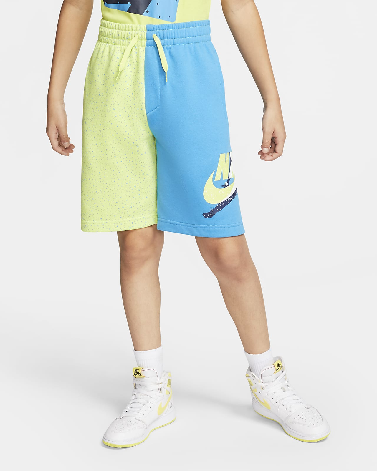Jordan Jumpman Classics Big Kids' (Boys') Color-Blocked Shorts