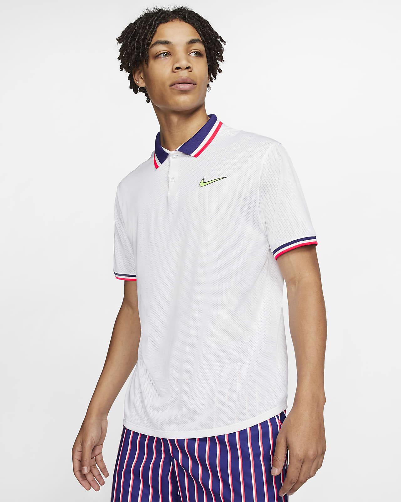 NikeCourt Slam Men's Tennis Polo