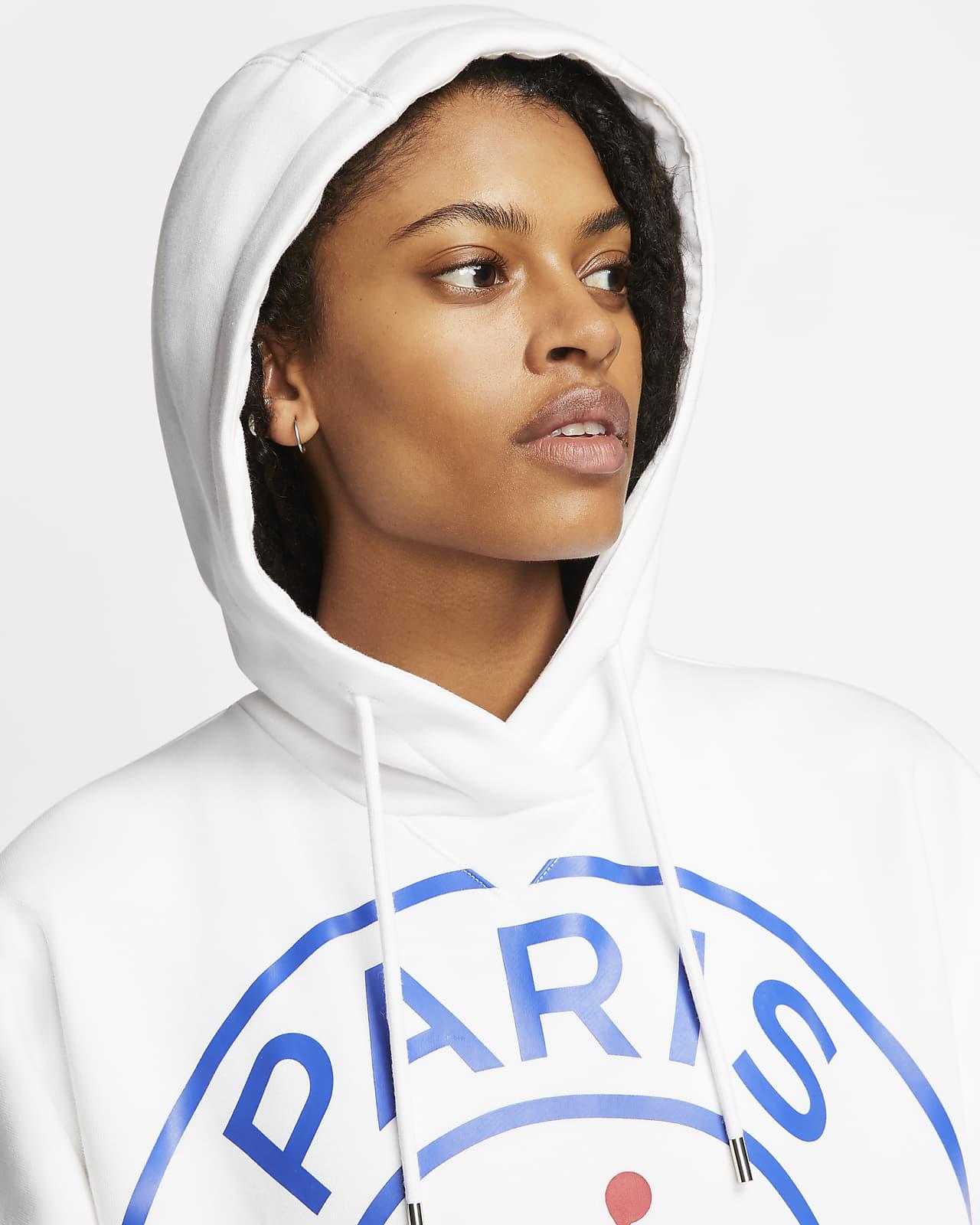 Felpa in fleece con cappuccio Paris Saint-Germain - Donna