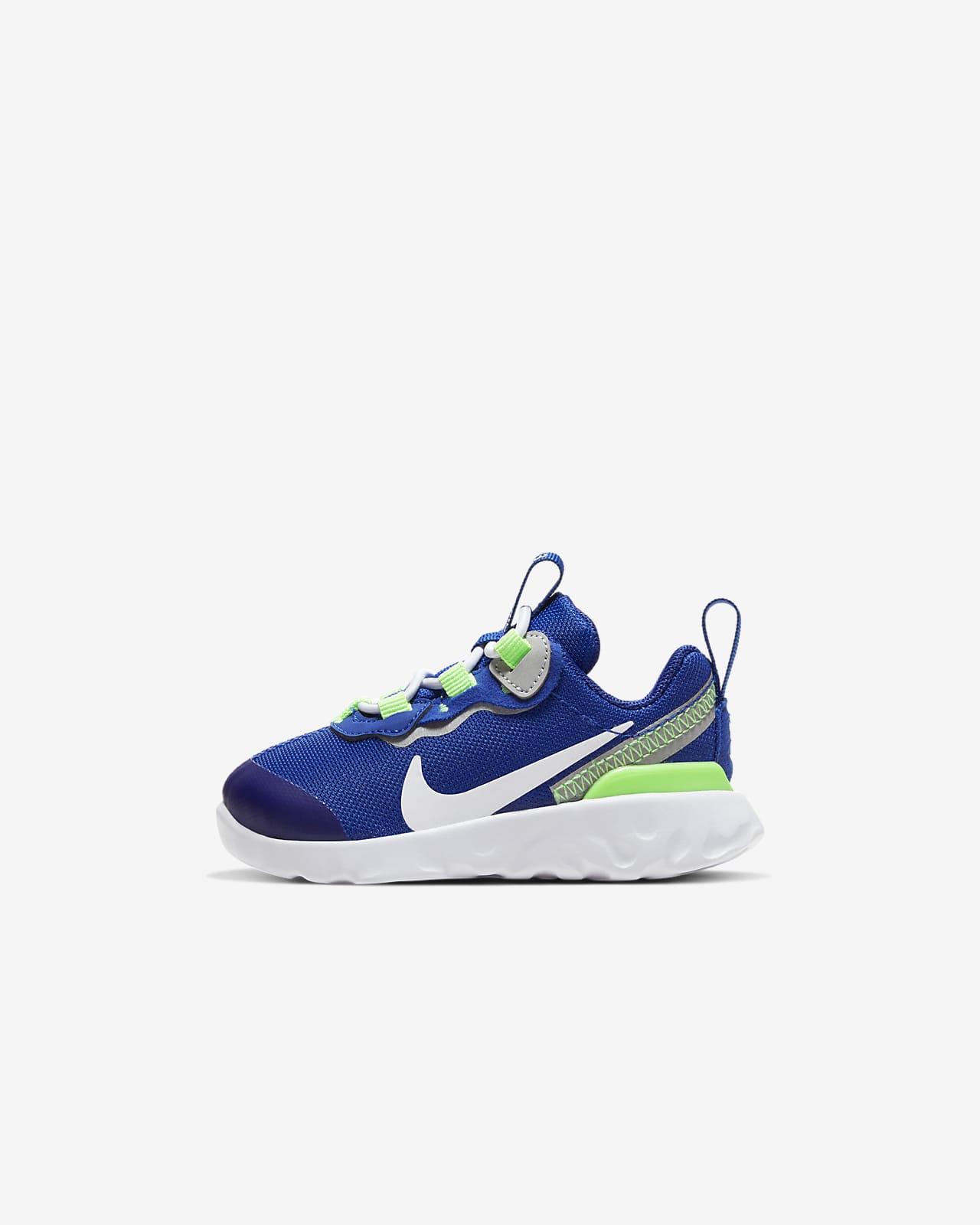 Nike React Element 55-sko til babyer/småbørn