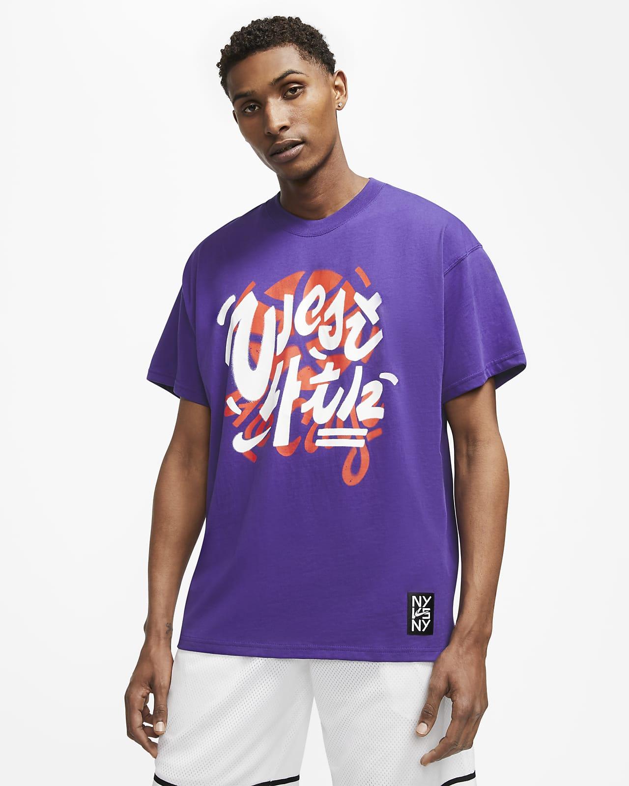 Playera de básquetbol para hombre Nike Dri-FIT NY vs. NY West 4th