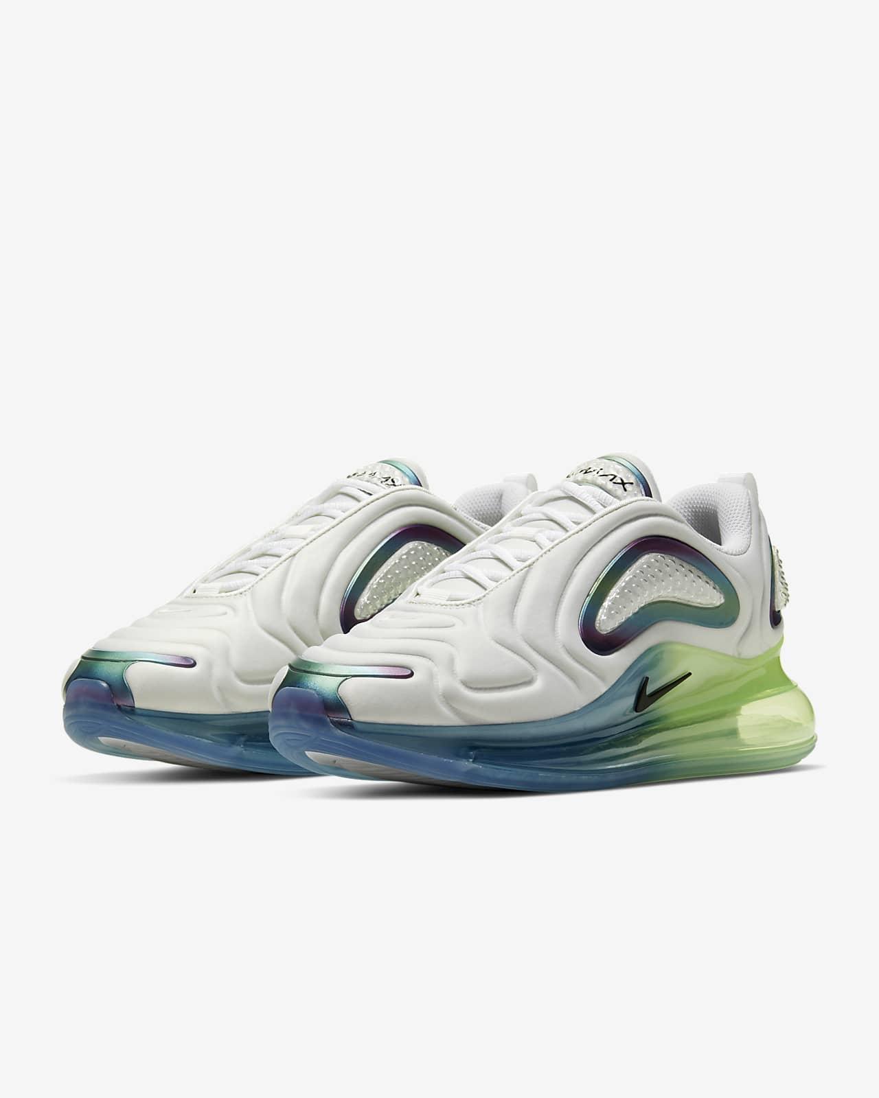 chaussure air max 720 gris et fluo