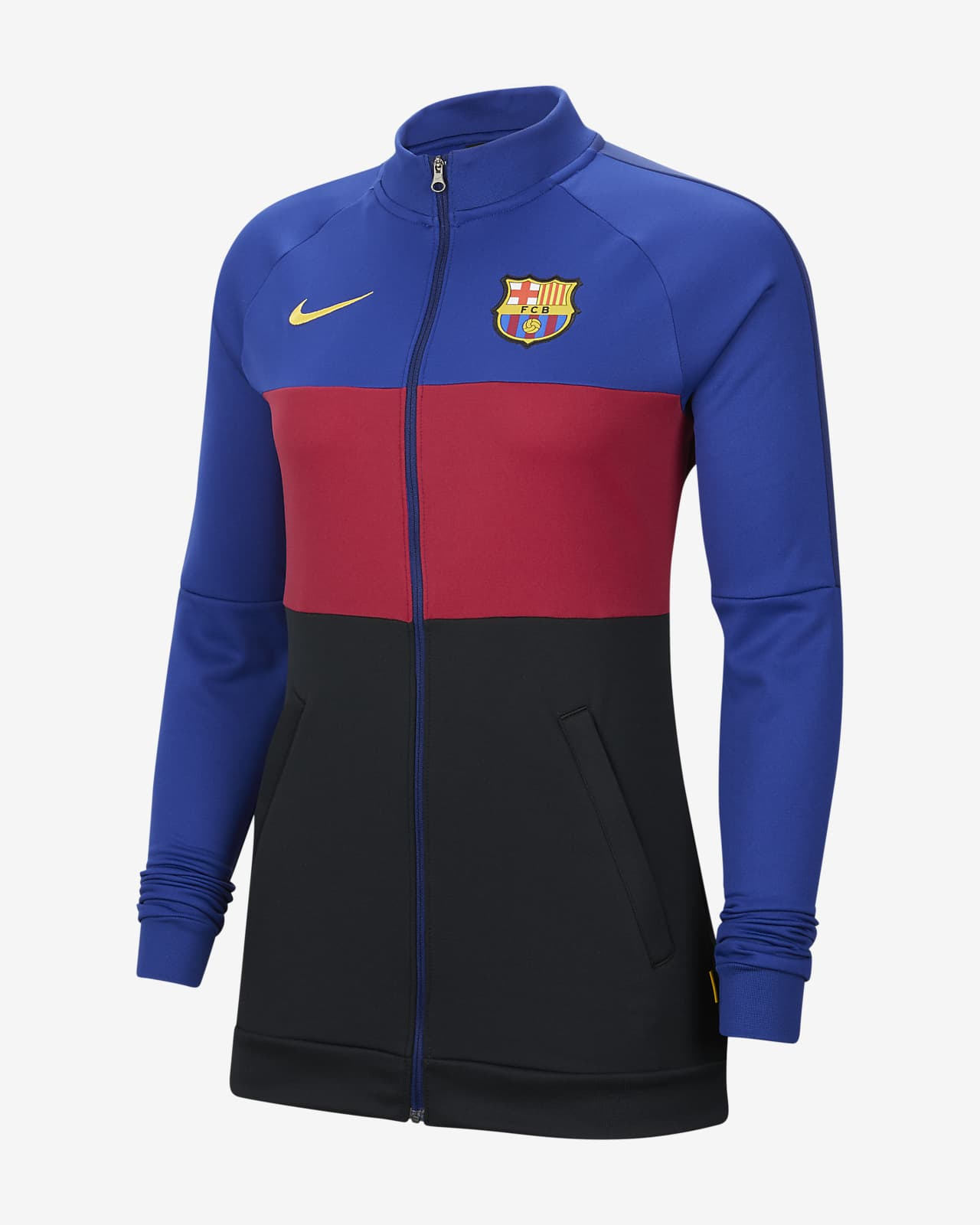 Unión Banquete Oficiales  FC Barcelona Chaqueta de chándal de fútbol - Mujer. Nike ES