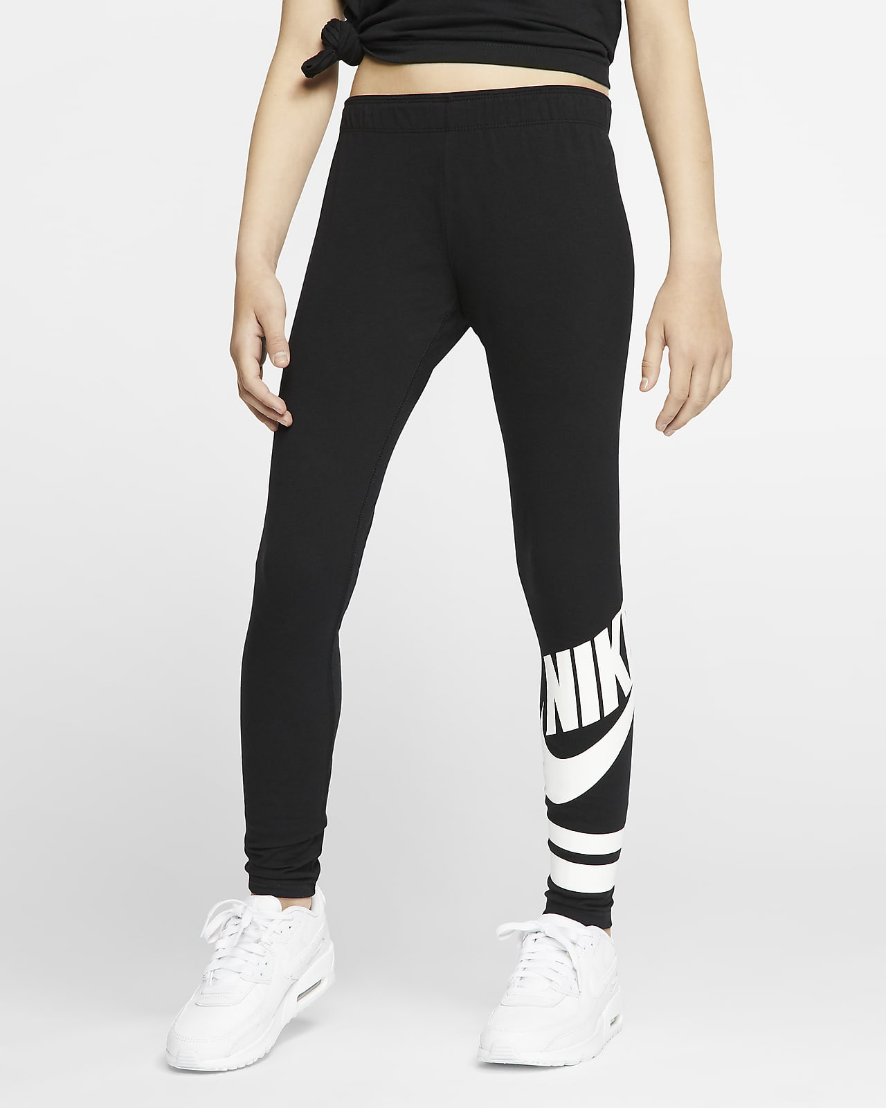 Nike Sportswear Older Kids' (Girls') Graphic Leggings