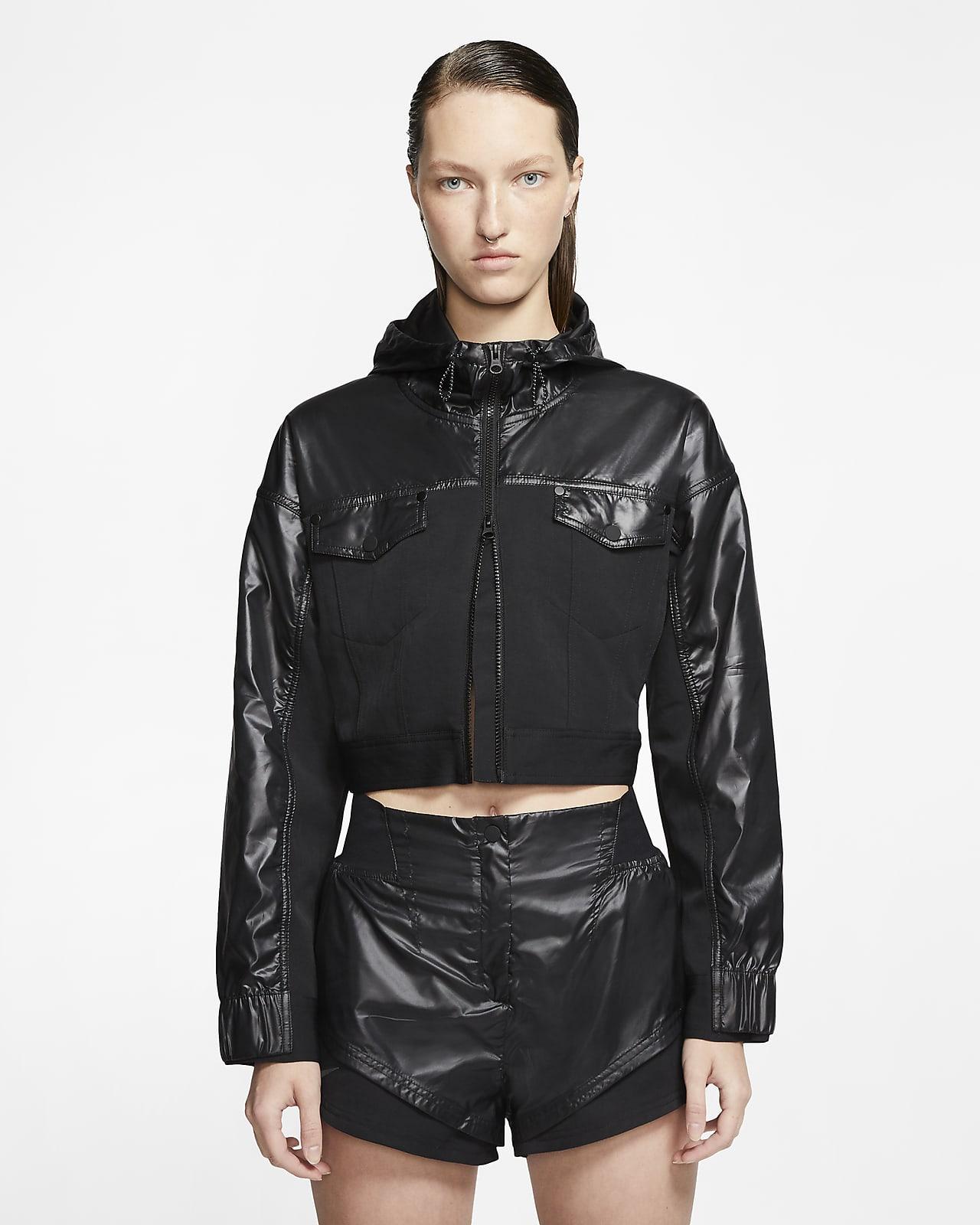 เสื้อแจ็คเก็ตเอวลอยผู้หญิง Nike Sportswear City Ready