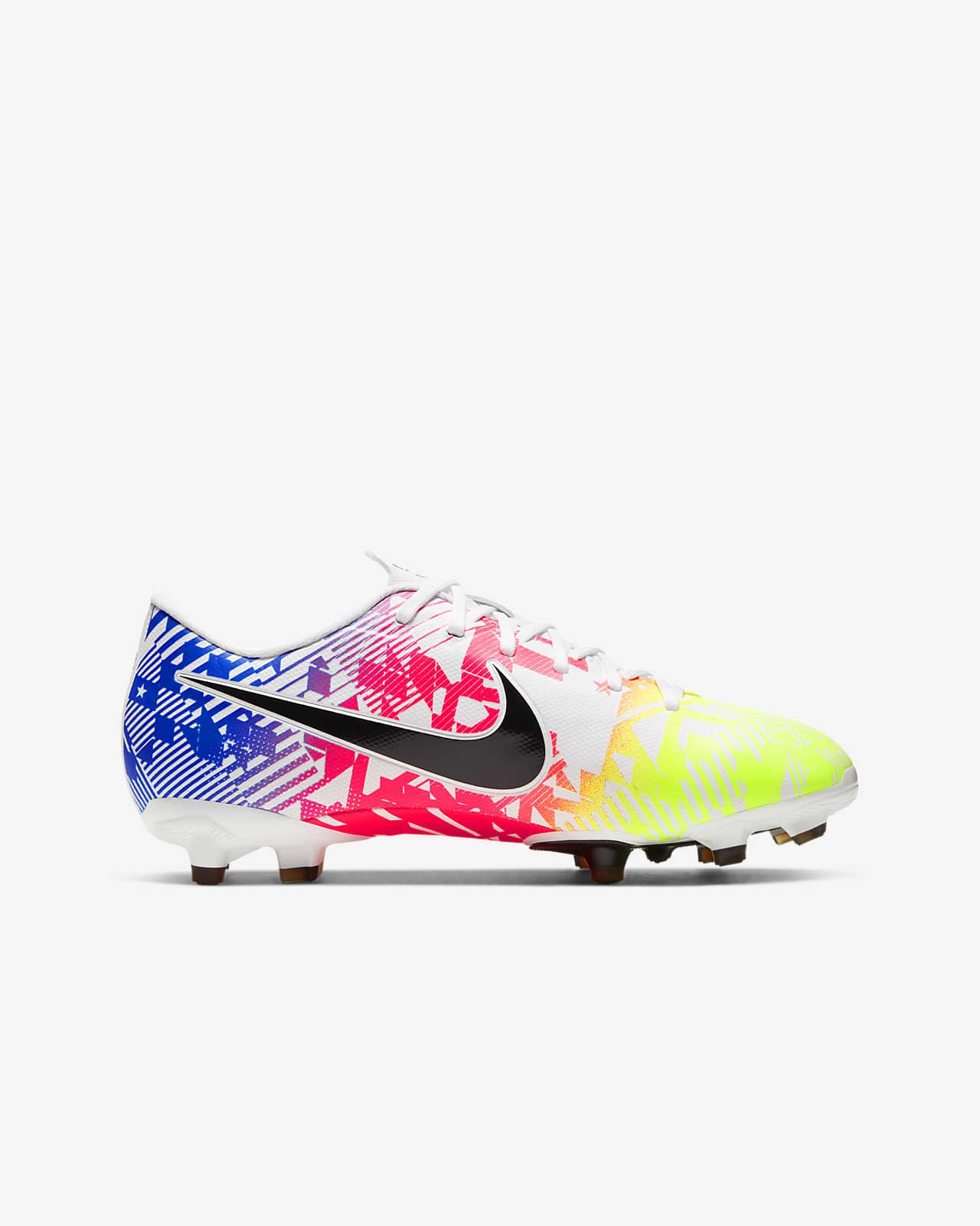 Chaussure de football multi surfaces à crampons Nike Jr. Mercurial Vapor 13 Academy Neymar Jr. MG pour Enfant