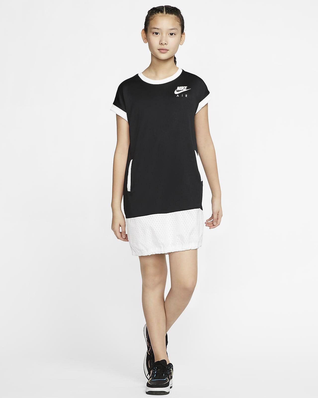Robe A Manches Courtes Nike Air Pour Fille Plus Agee Nike Ch