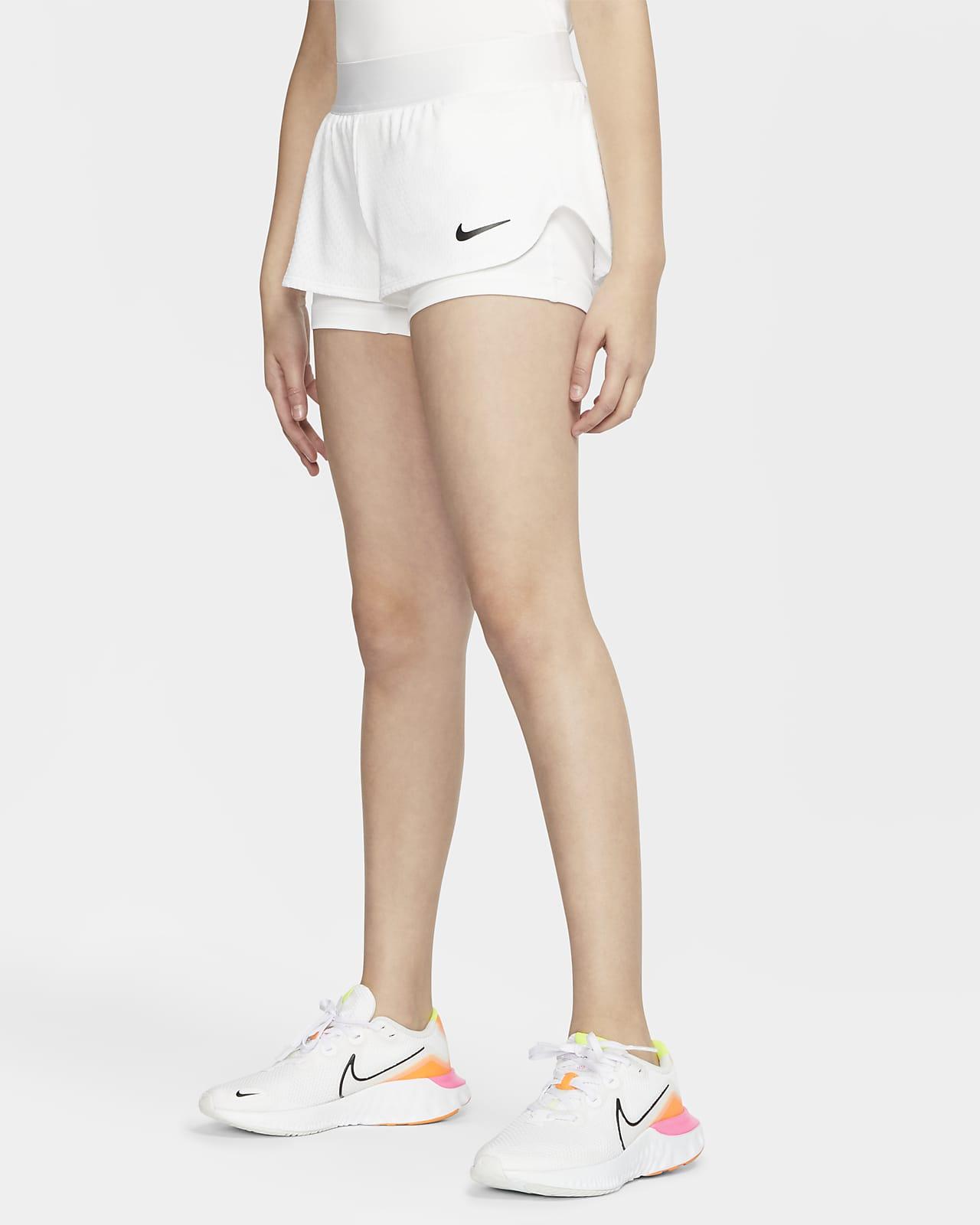 NikeCourt Flex teniszrövidnadrág nagyobb gyerekeknek (lányok)