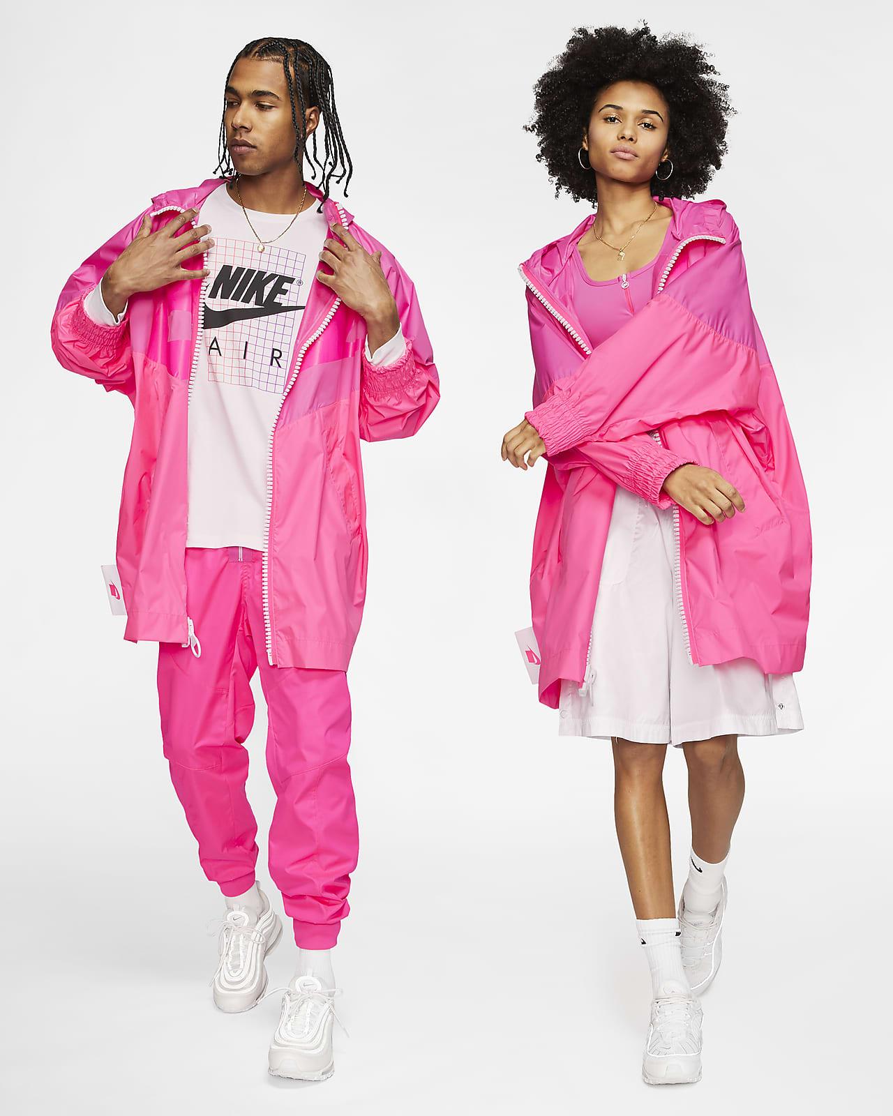 nike sportswear jacke rosa