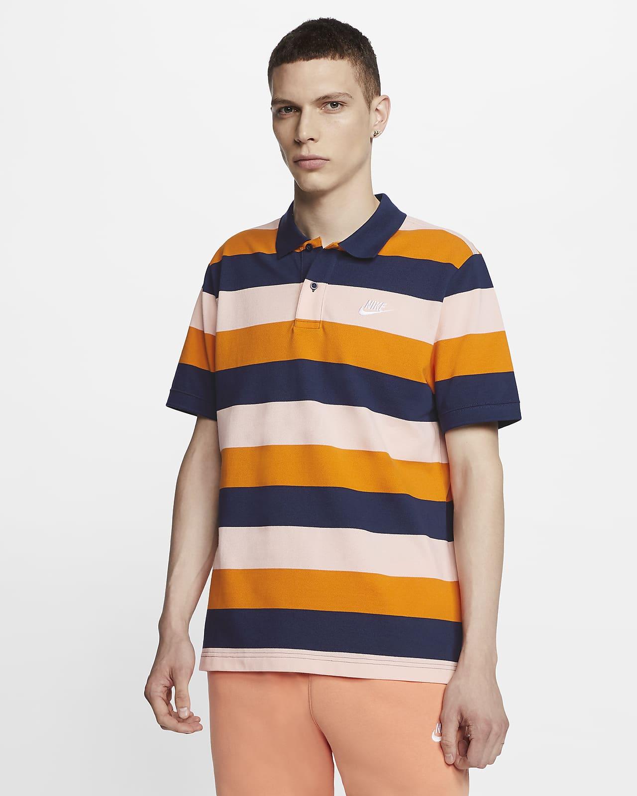Nike Sportswear-polotrøje med striber til mænd