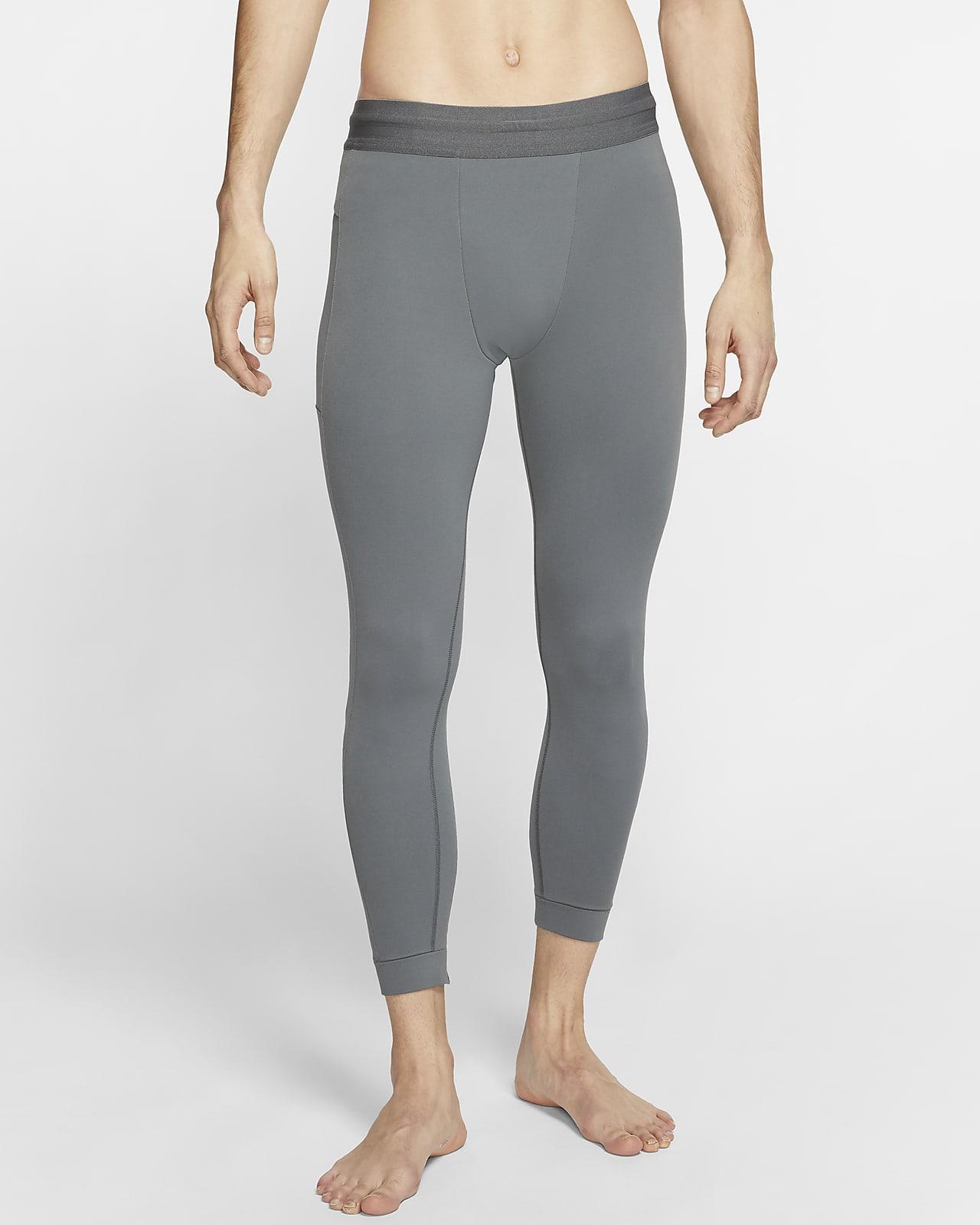 Mallas de Infinalon 3/4 para hombre Nike Yoga Dri-FIT