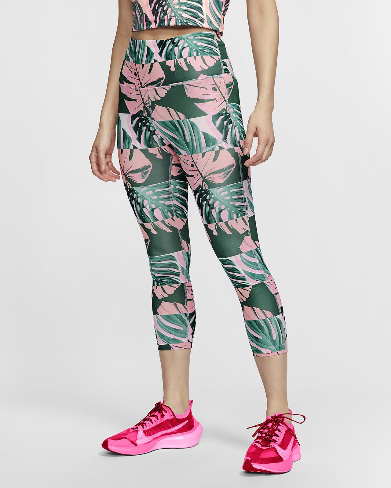 Nike Fast 女款短版跑步緊身褲