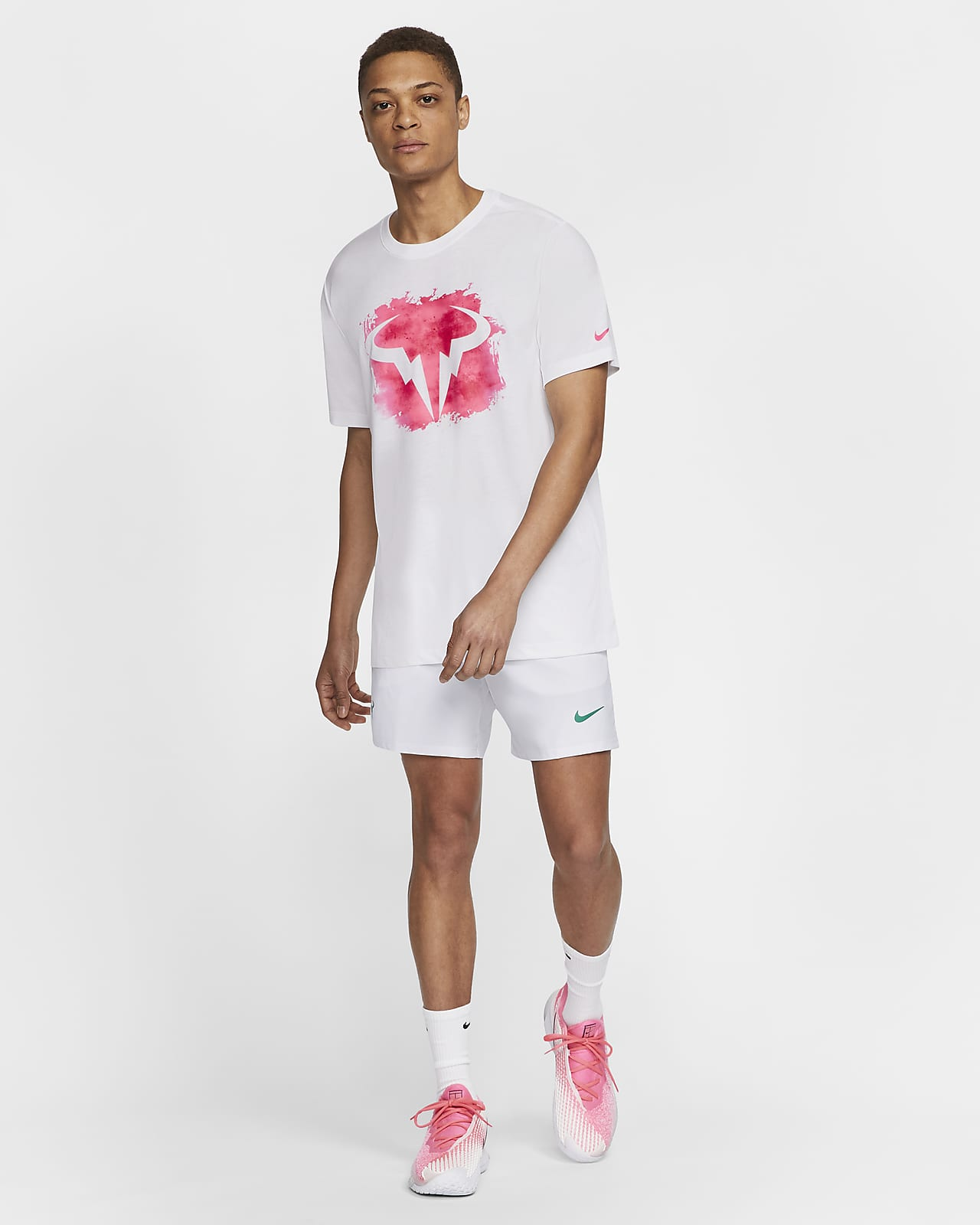 Tee shirt de tennis NikeCourt Dri FIT Rafa pour Homme