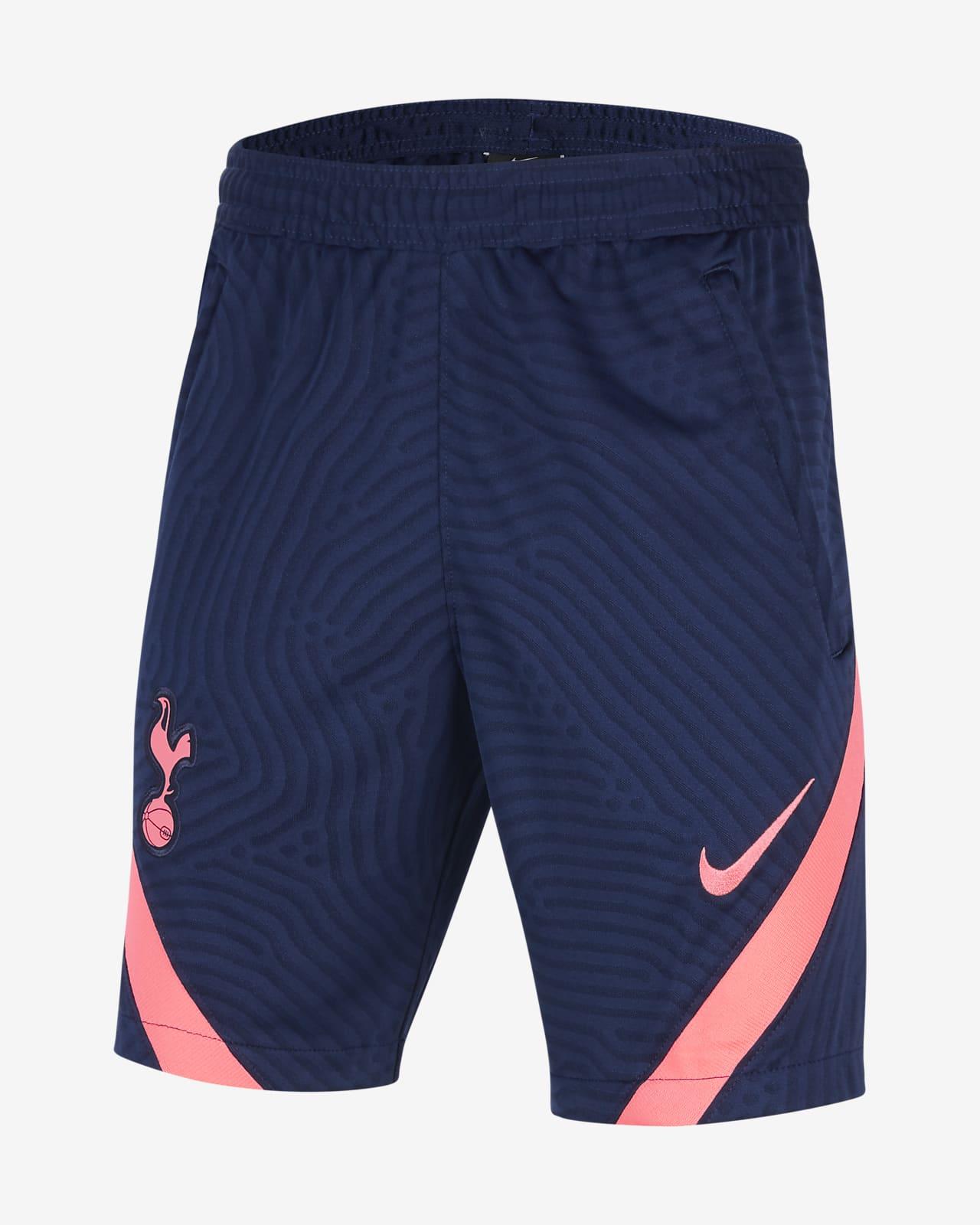 Tottenham Hotspur Strike Older Kids Knit Football Shorts Nike Lu