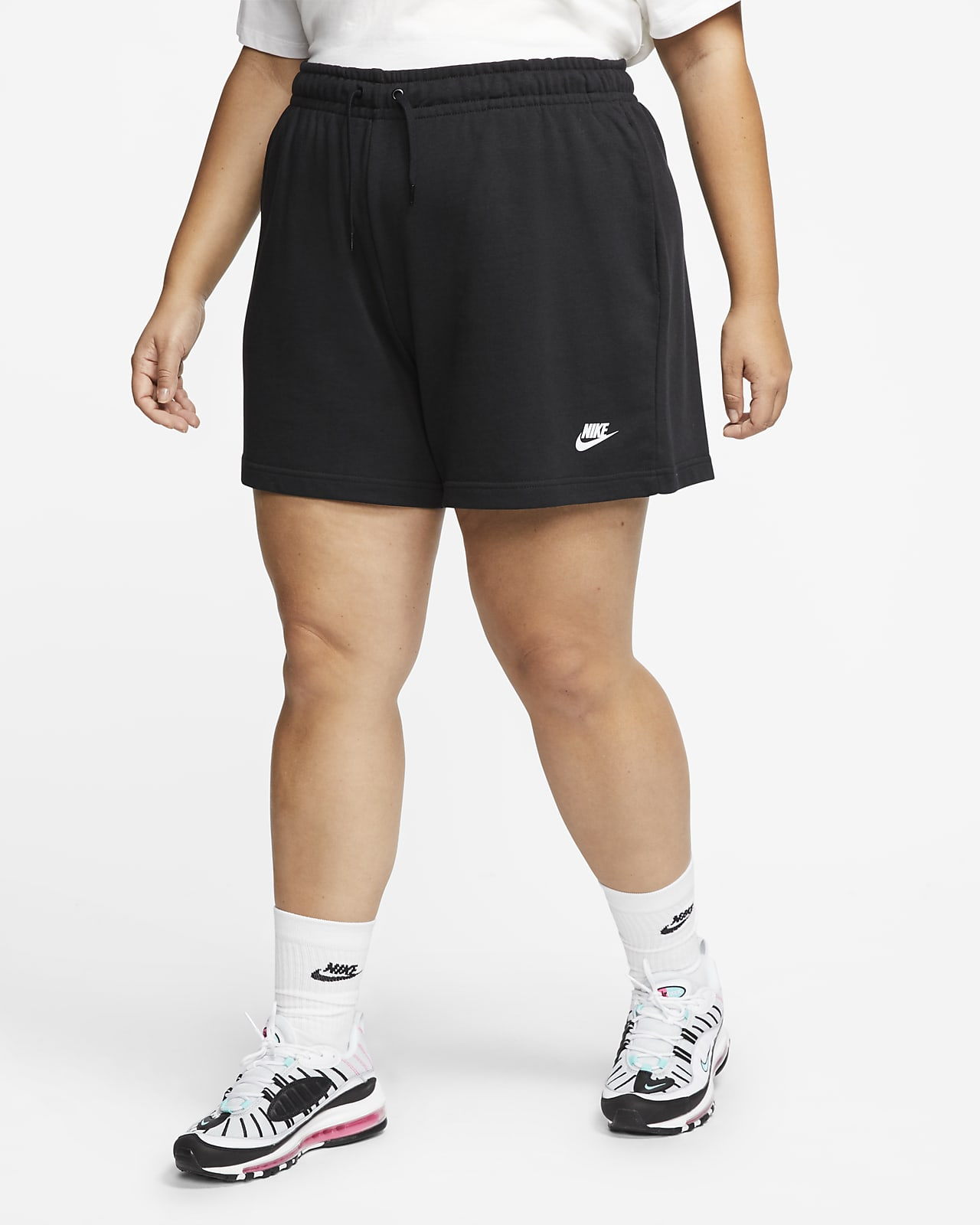 Nike Sportswear Club Fleece Damenshorts (große Größe)